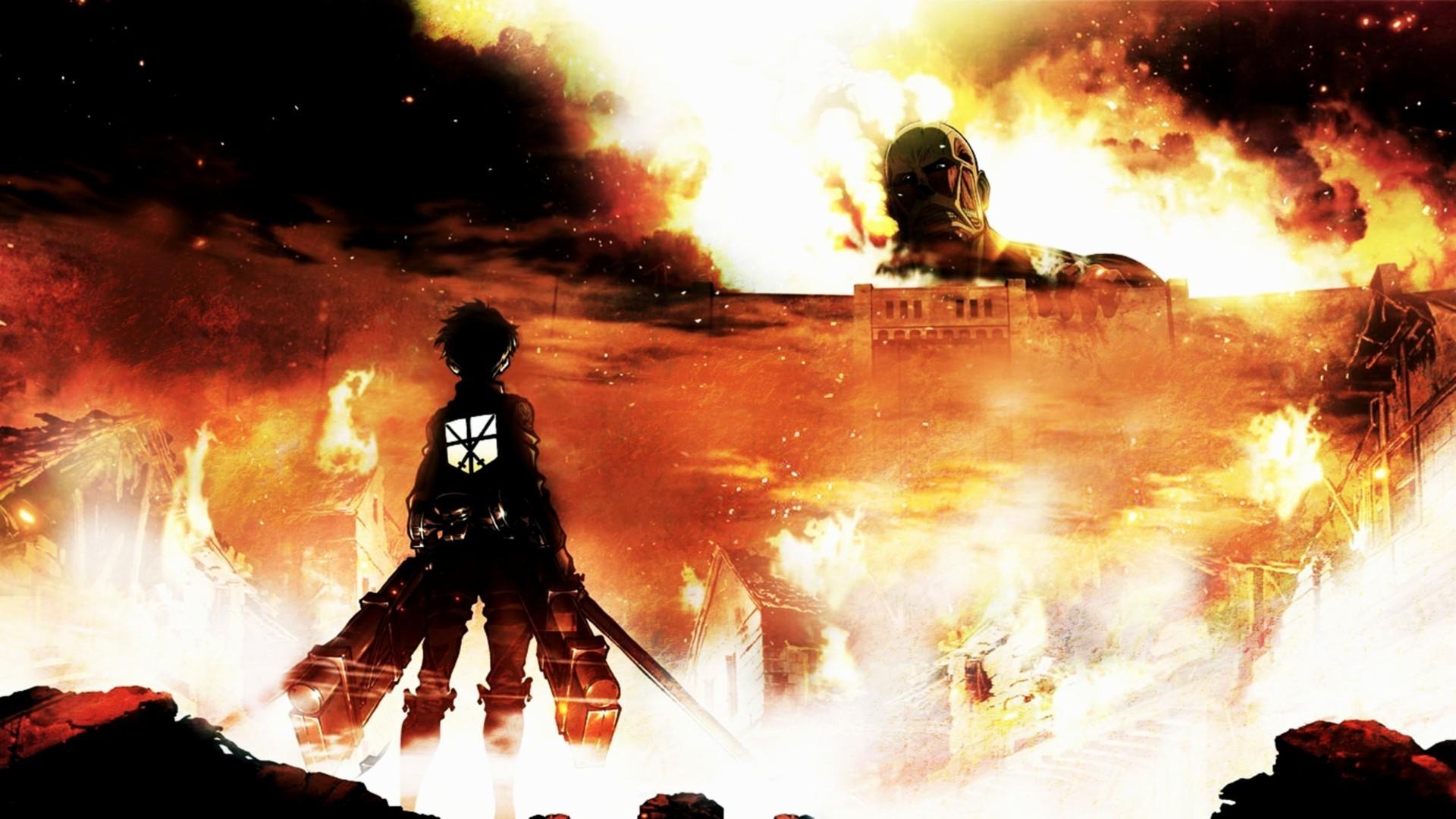 Anime Wallpaper 4k Attack On Titan Anime Wallpapers