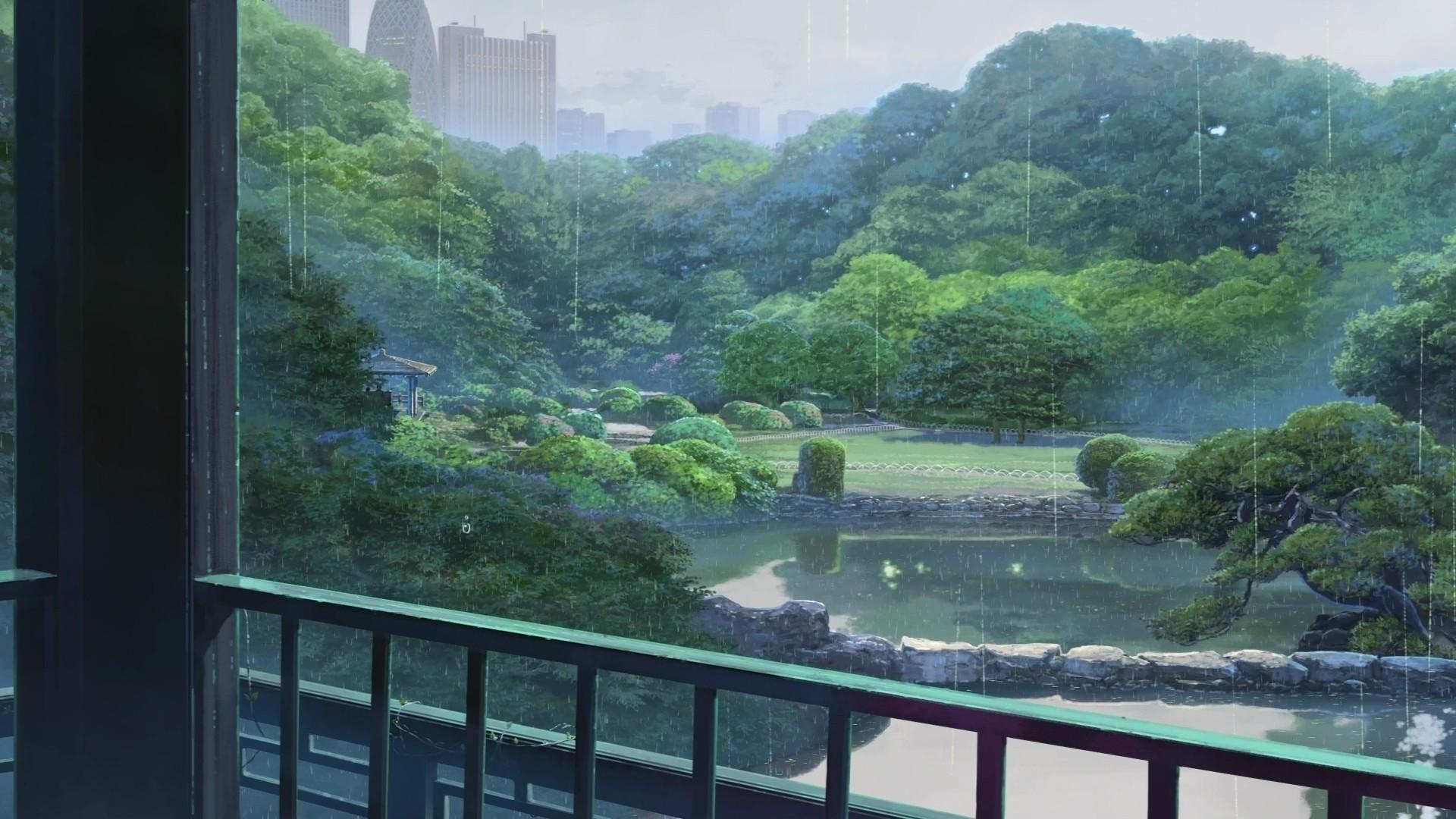 Wallpaper 1920x1080 Px Anime Makoto Shinkai The Garden Of Words 1920x1080 Wallup 1498651 Hd Wallpapers Wallhere