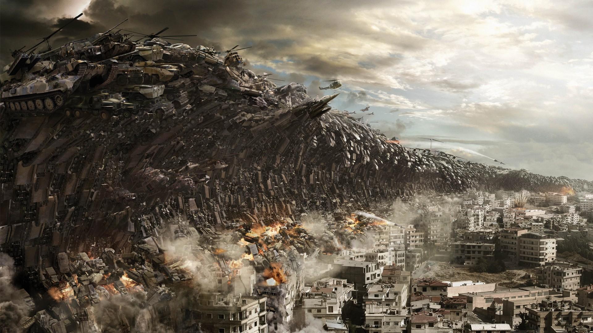 Wallpaper 1920x1080 Px Apocalypse Art Battle Cg
