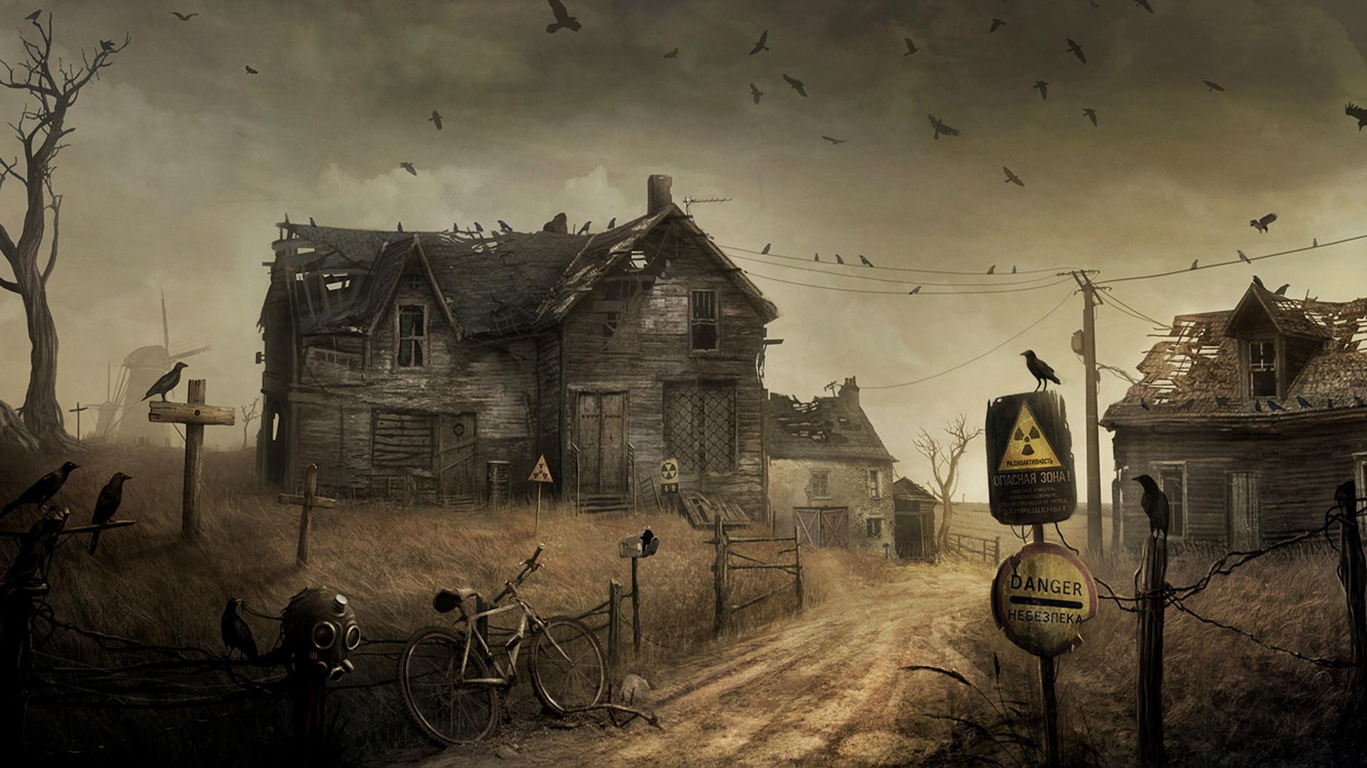 Best Wallpaper Halloween Haunted - 1920x1080-px-apocalypse-apocalyptic-bicycle-birds-creepy-crows-dark-destruction-evil-gas-Halloween-haunted-horror-houses-mask-post-radiation-ravens-roads-ruins-spooky-805775  Photograph_573121.jpg