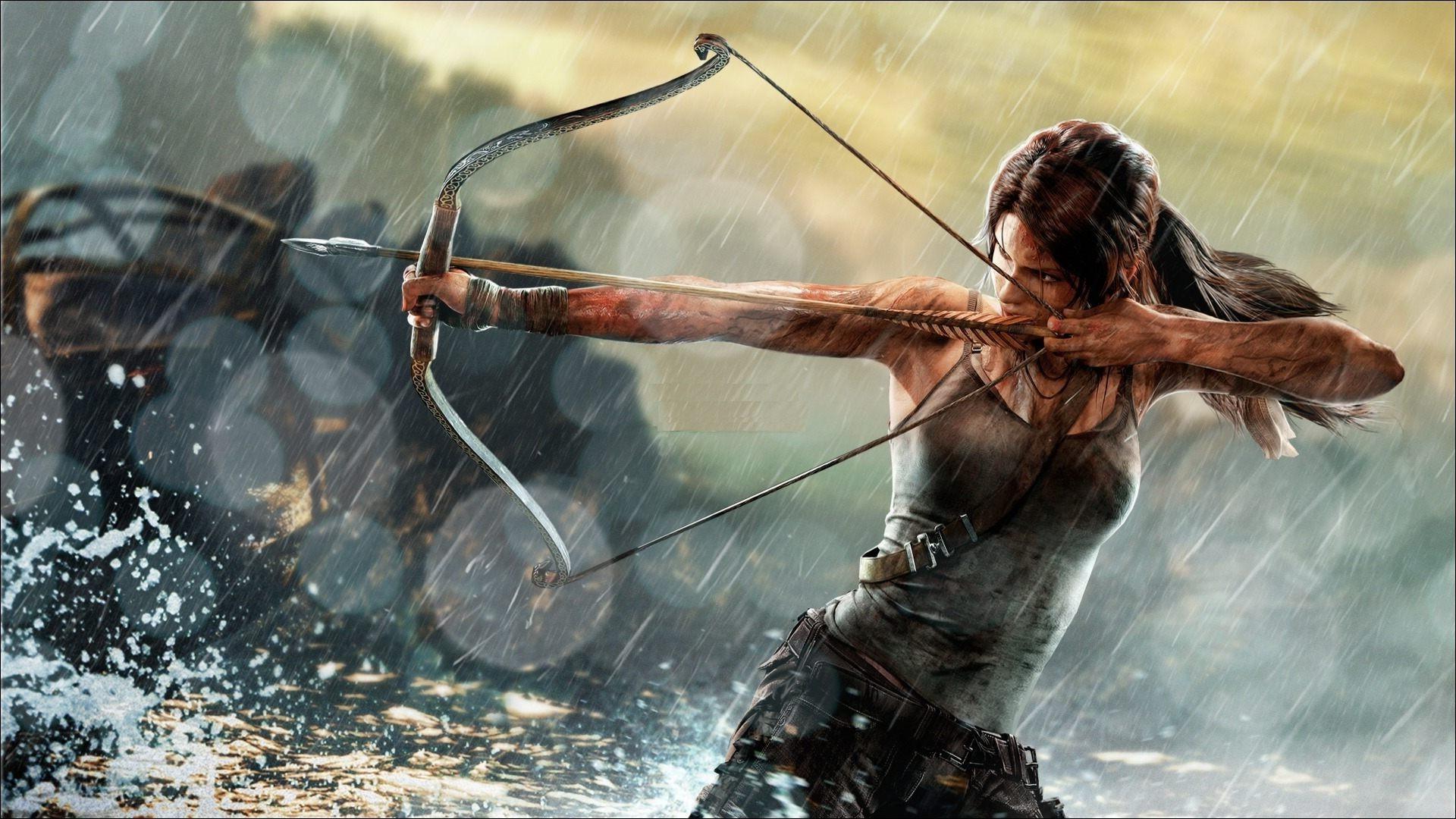 1920x1080 Px Archers Bows Lara Croft Rise Of The Tomb Raider Video Games