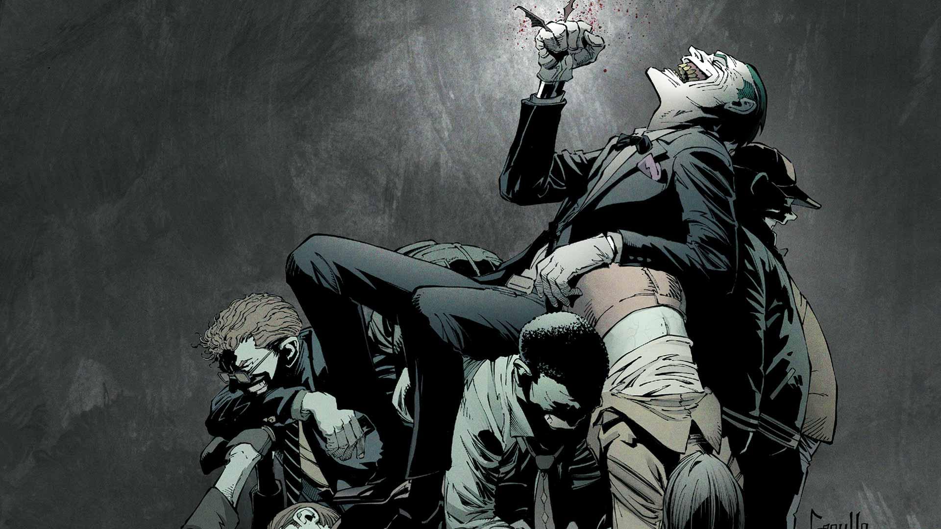 1920x1080 Px Artwork Batman Comics DC Fantasy Art Joker