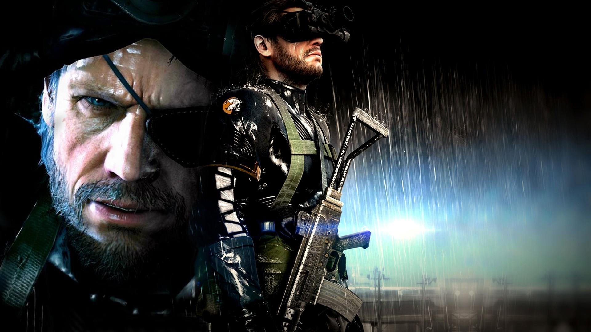 Wallpaper 1920x1080 Px Artwork Big Boss Metal Gear Solid