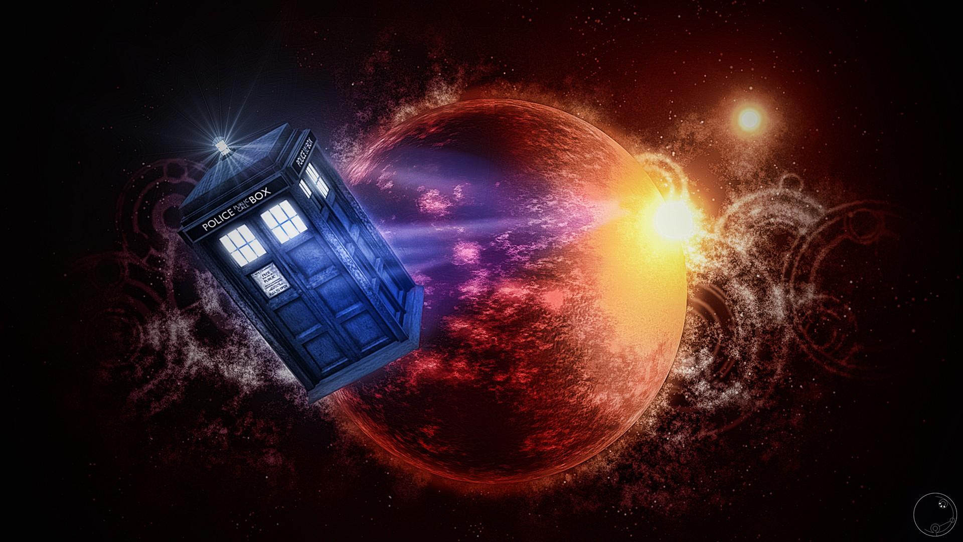 Wallpaper 1920x1080 Px Artwork Doctor Who Tardis The