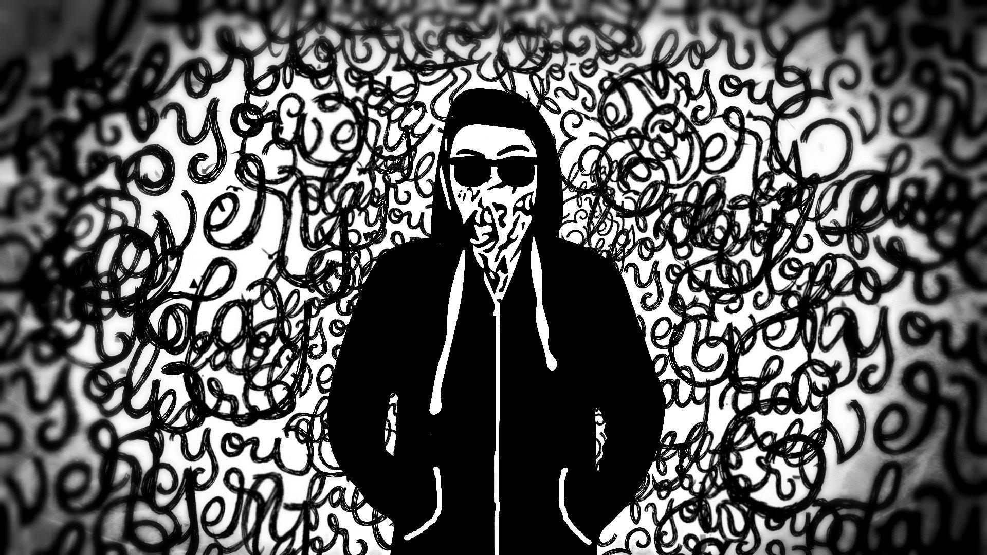 Masaüstü 1920x1080 Piksel Siyah Erik Boyama Wderikskate Beyaz