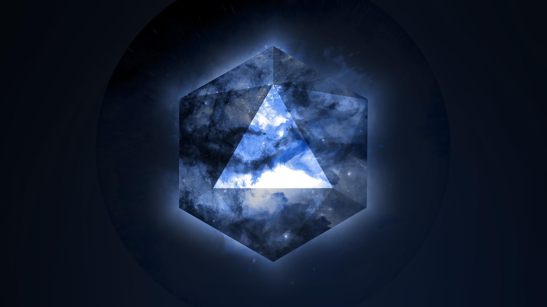 Fondos De Pantalla 1920x1080 Px Azul Geometría