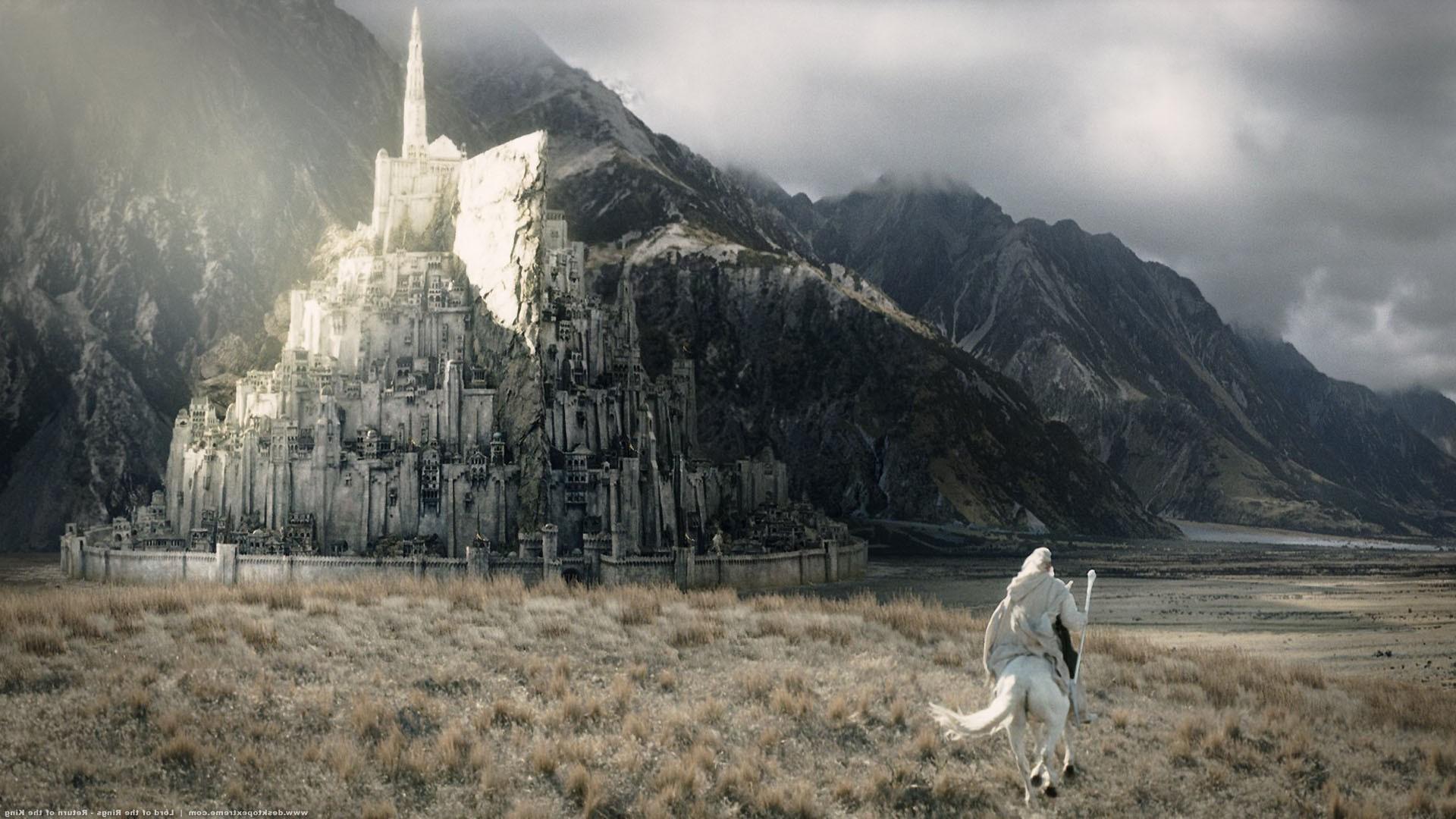 Wallpaper 1920x1080 Px Building City Gandalf Minas