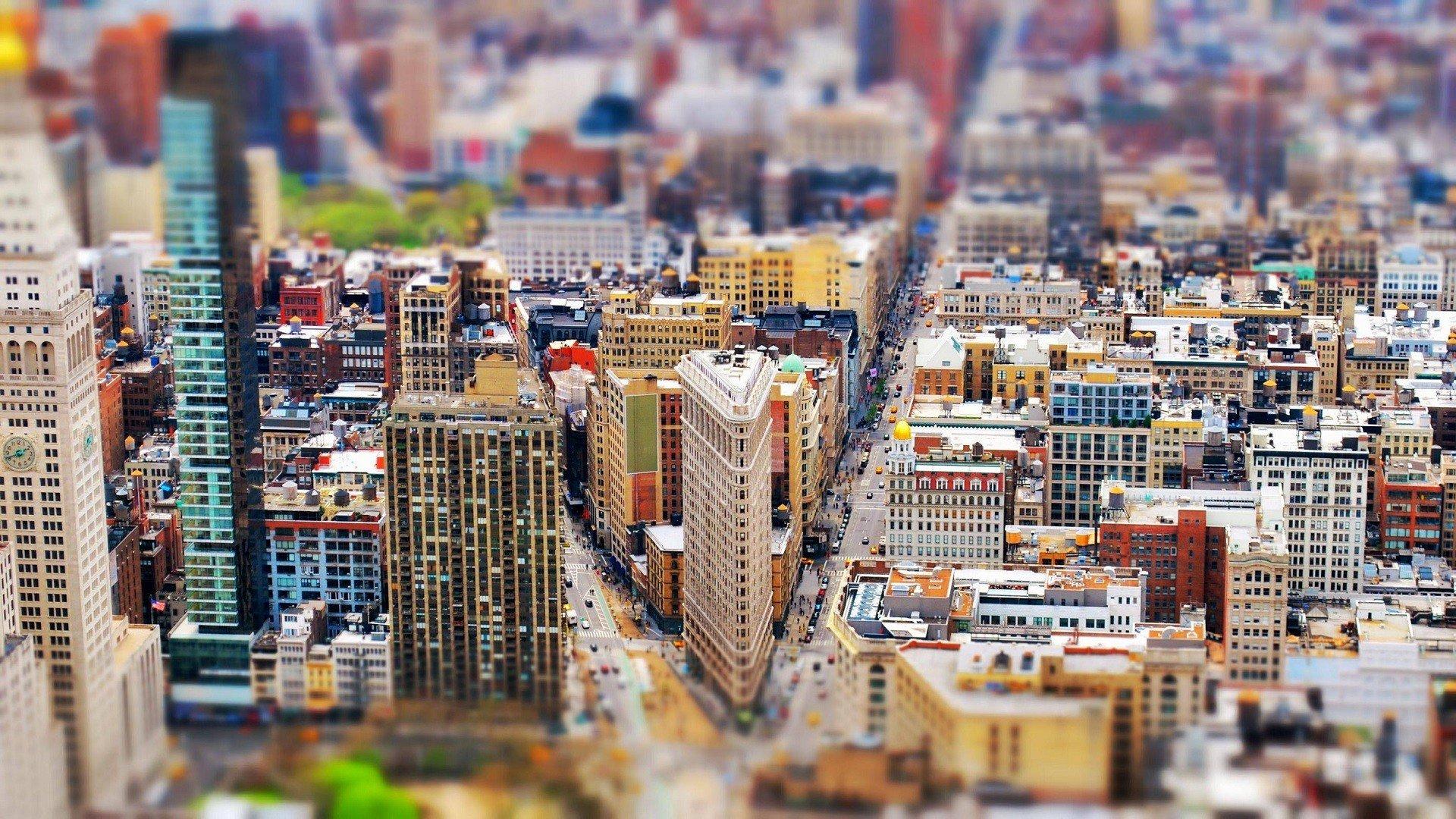 Миниатюрные улицы и города фото
