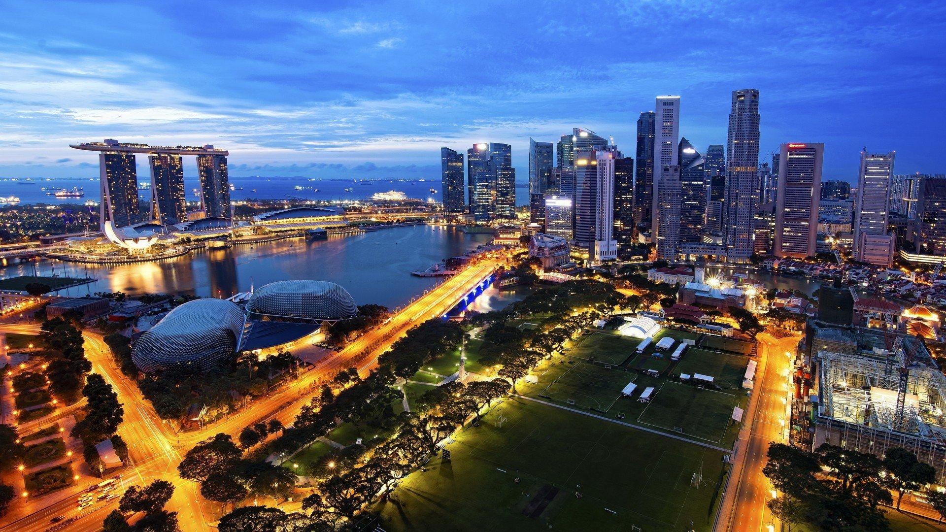 Обои cityscapes, Singapore, городские пейзажи. Города foto 11