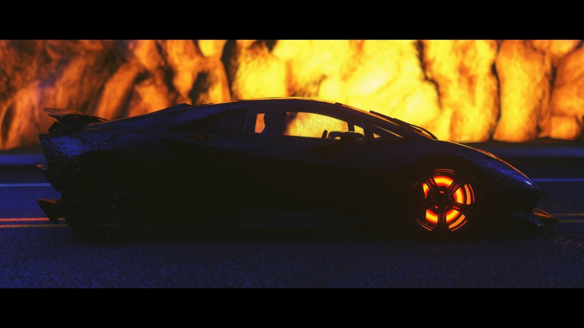 Lamborghini Sesto Elemento Wallpaper 1920x1080