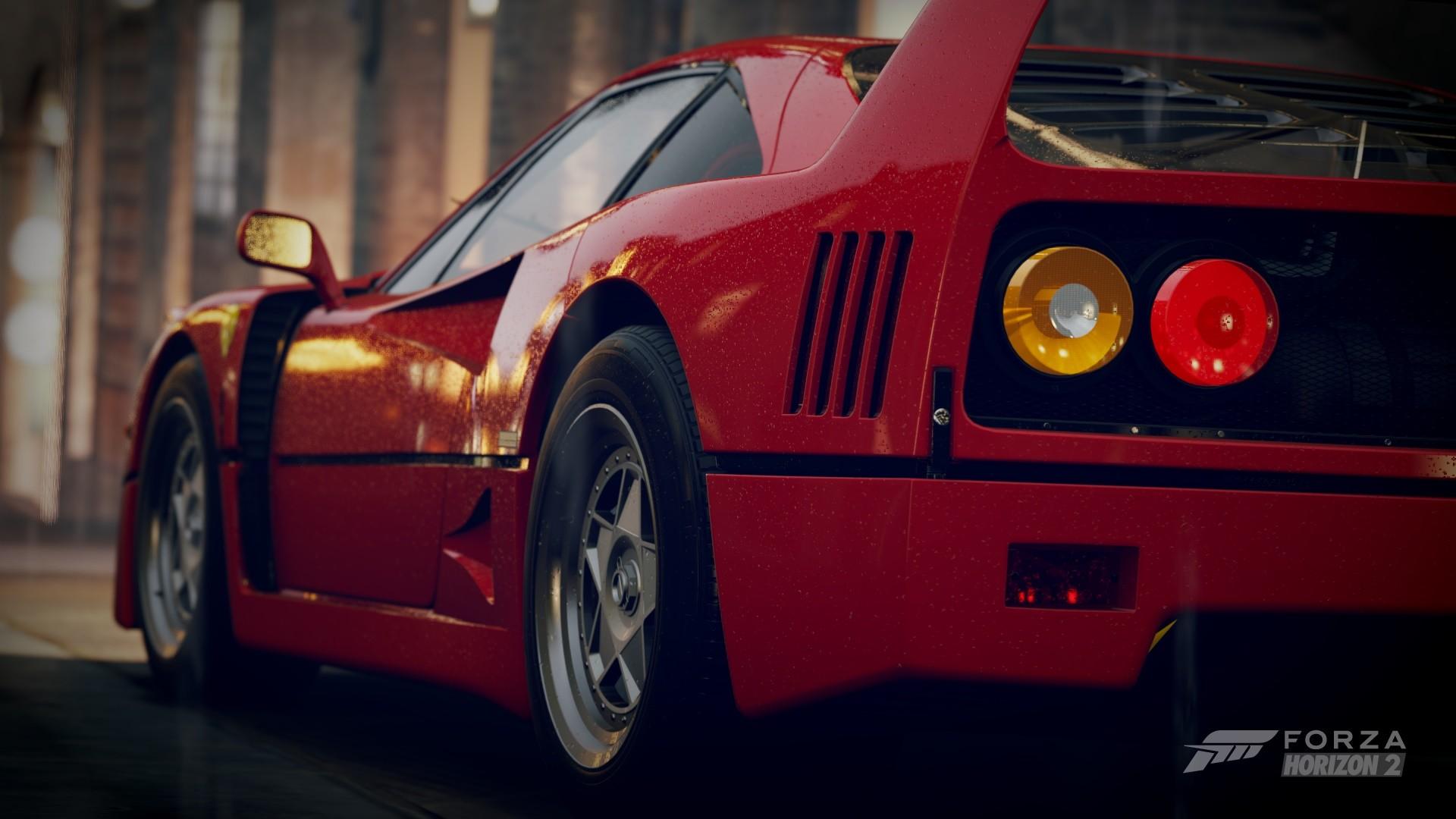 Wallpaper  1920x1080 px, car, Ferrari F40, Forza Horizon 2