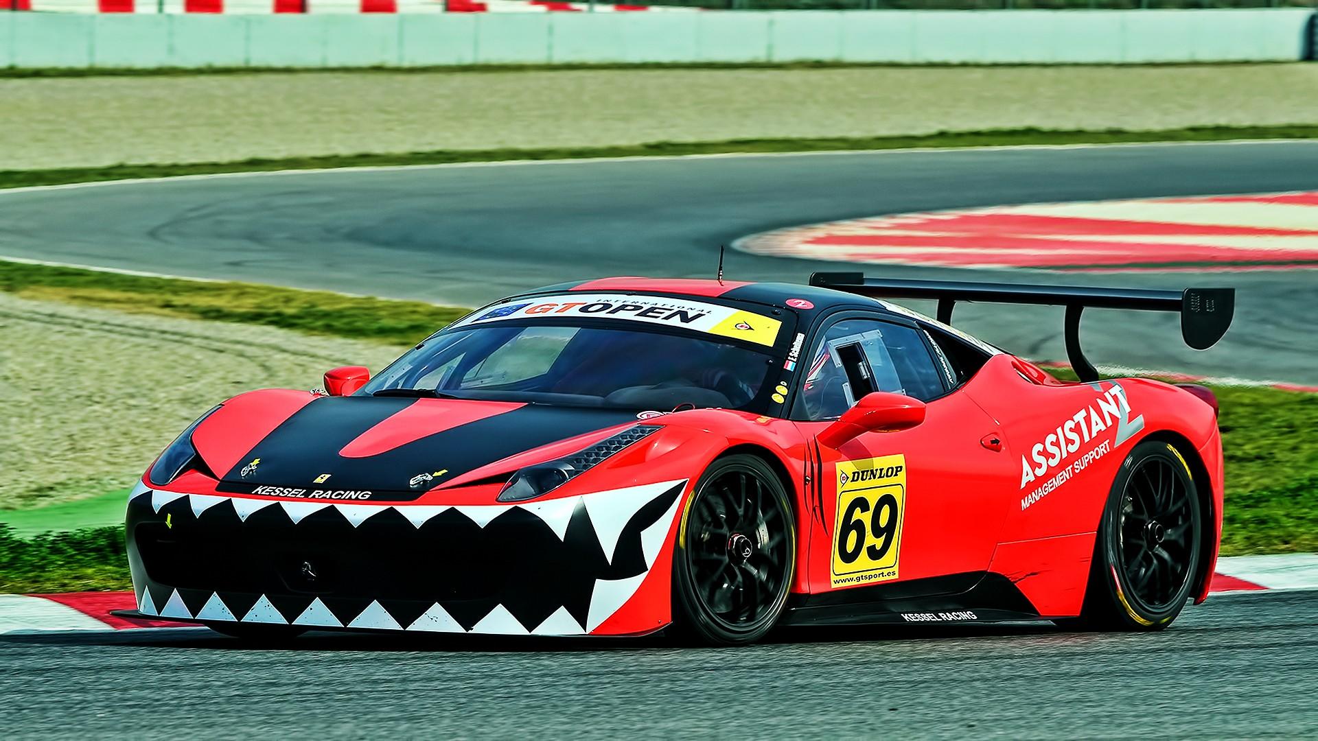 Wallpaper : 1920x1080 px, car, Ferrari 458 Italia GT3, Ferrari ...