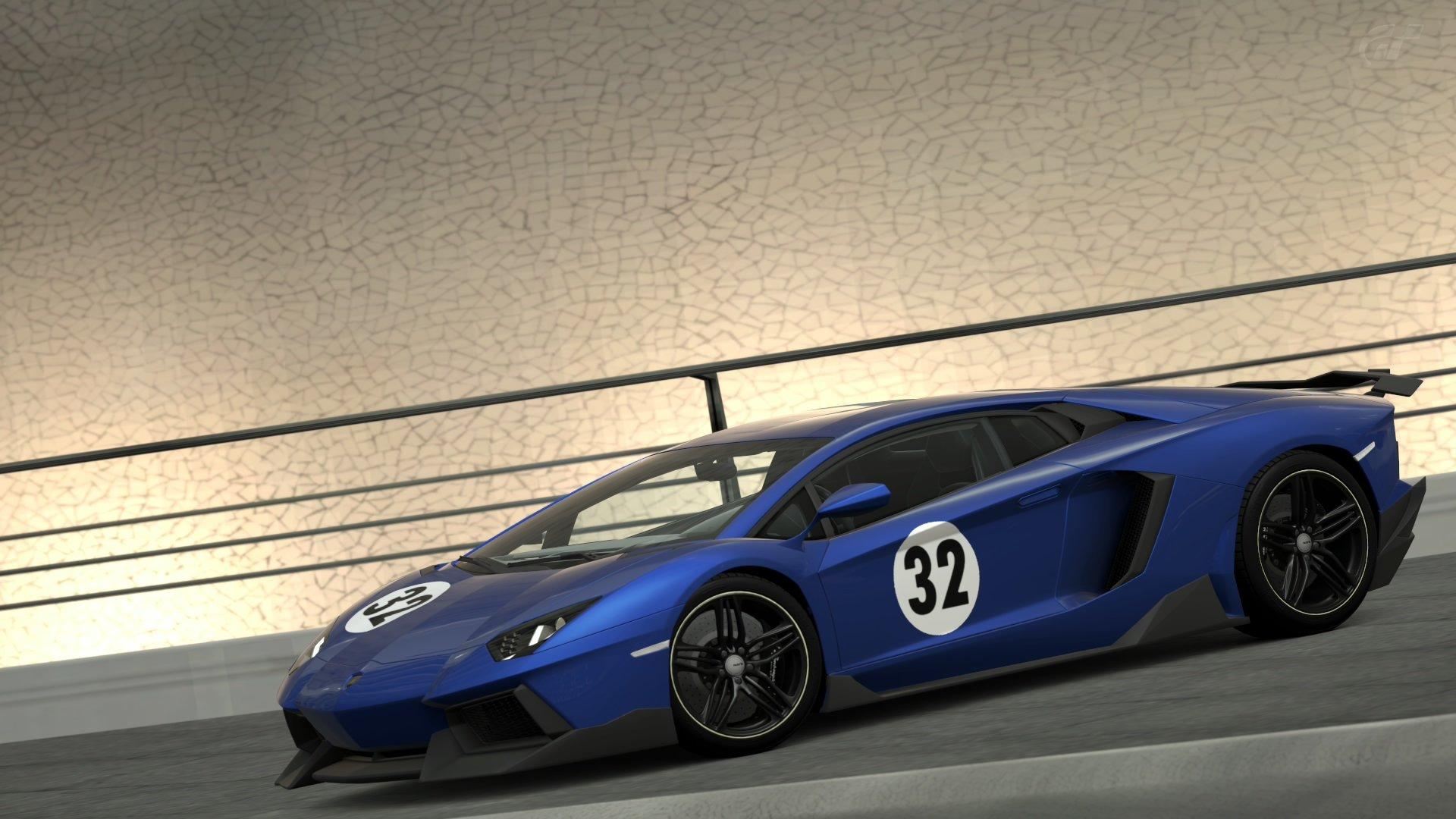 Wallpaper 1920x1080 Px Car Gran Turismo 6 Lamborghini Aventador