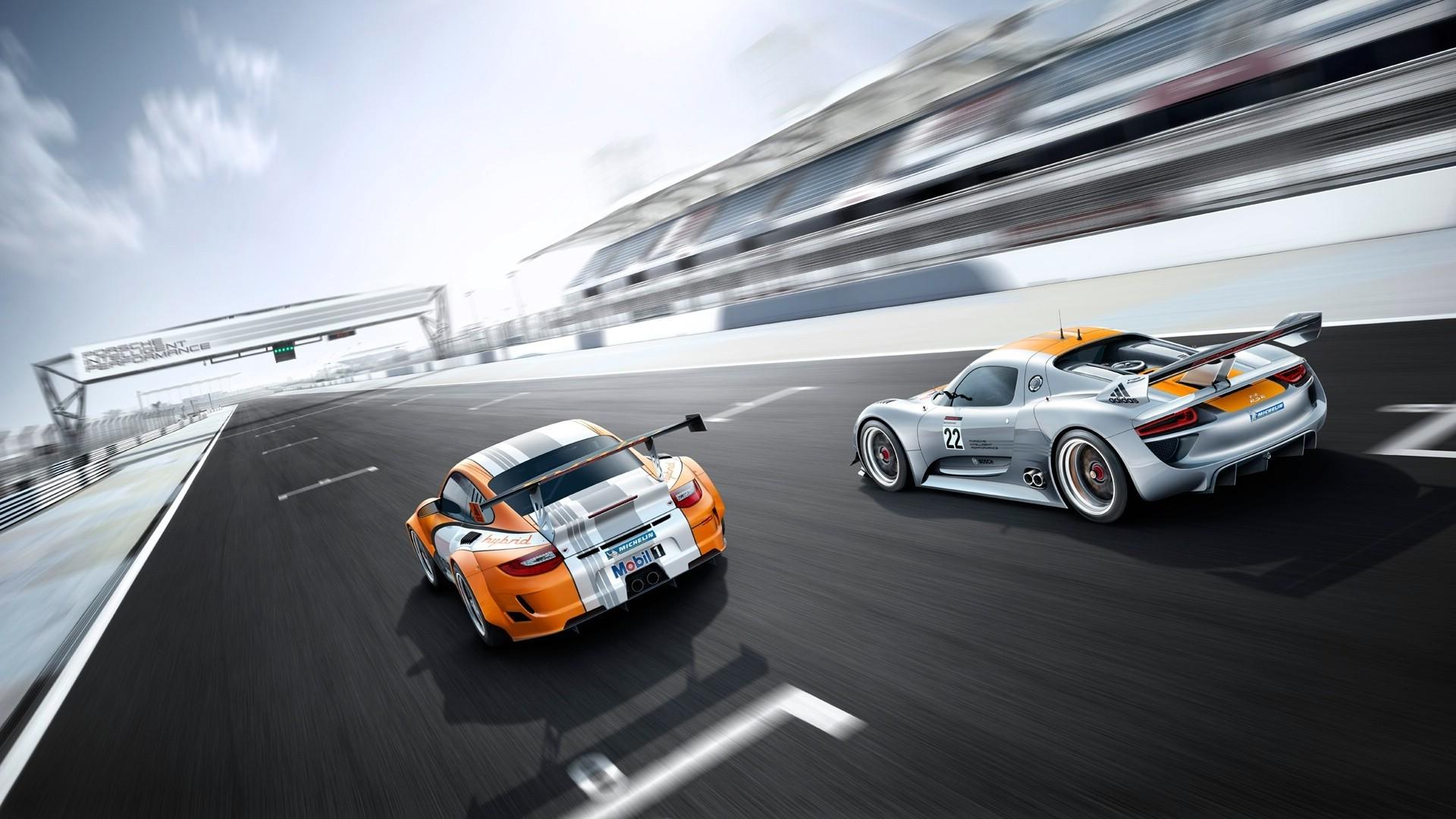 1920x1080 Px Porsche 911 GT3 918 RSR