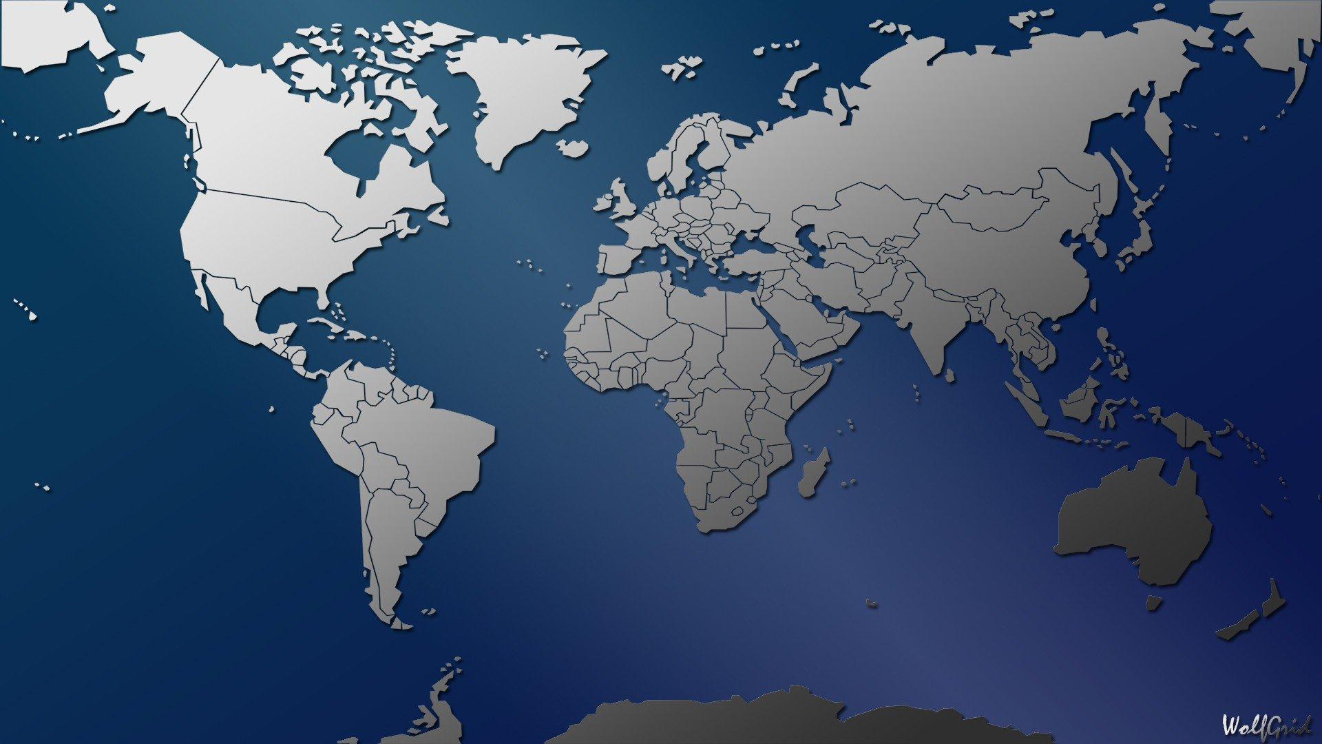 Cartina Geografica Mondo Gratis.Sfondi 1920x1080 Px Paesi Carta Geografica Mappa Del