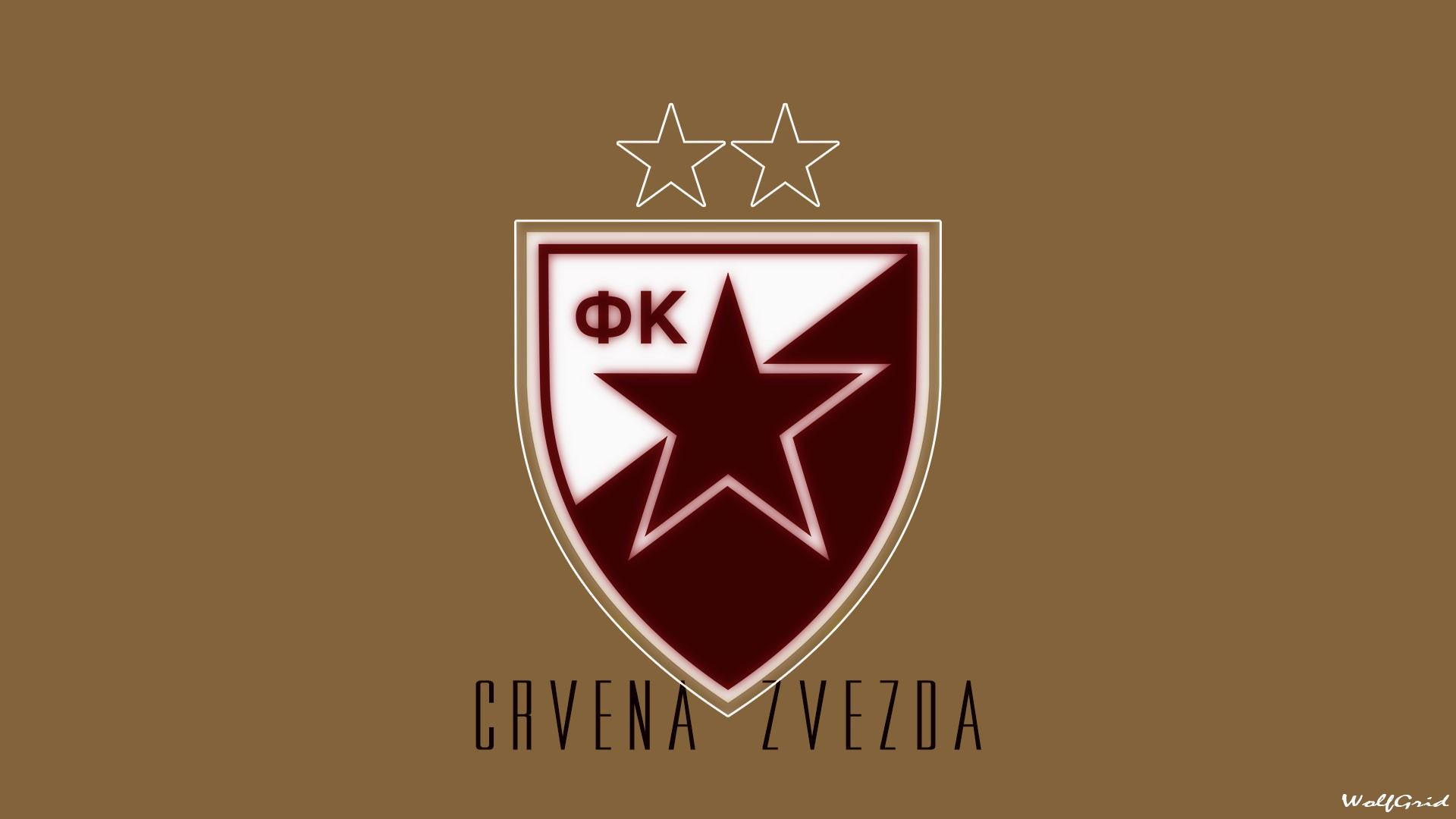 Wallpaper 1920x1080 Px Crest Crvena Zvezda Logo Soccer