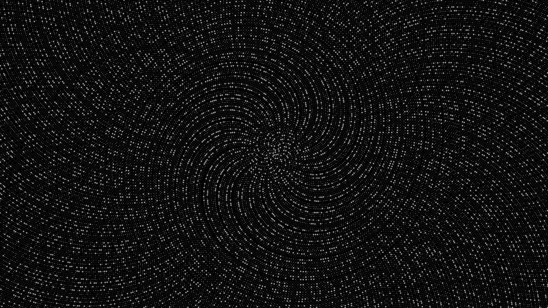 Wallpaper : 1920x1080 Px, Dots, Golden Ratio, Monochrome