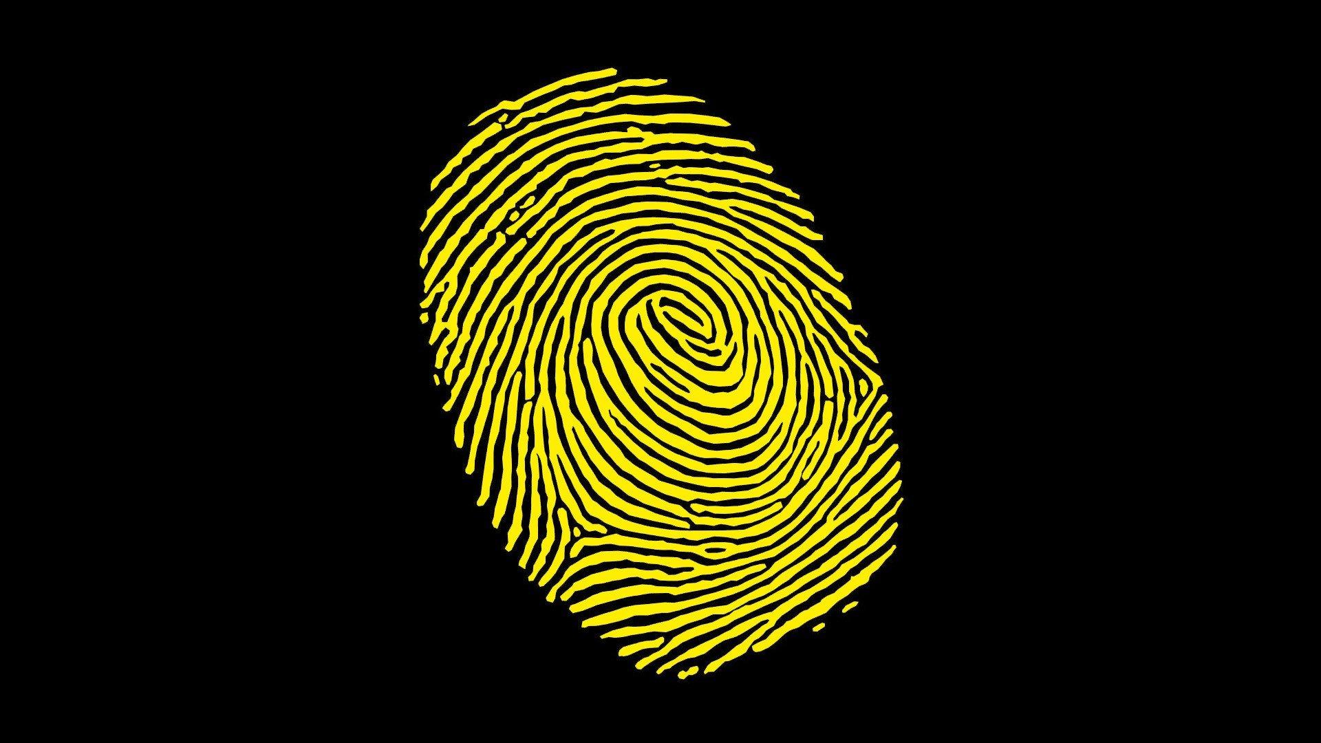 Отпечаток пальца картинка