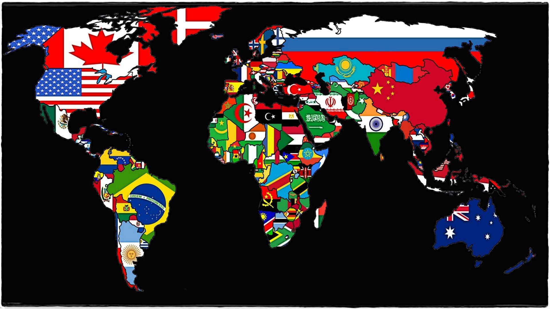 Papel De Parede 1920x1080 Px Playerunknowns: Papel De Parede : 1920x1080 Px, Bandeira, Mapa, Nações