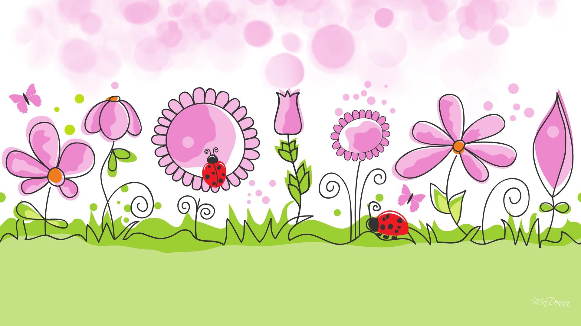 векторное изображение весна