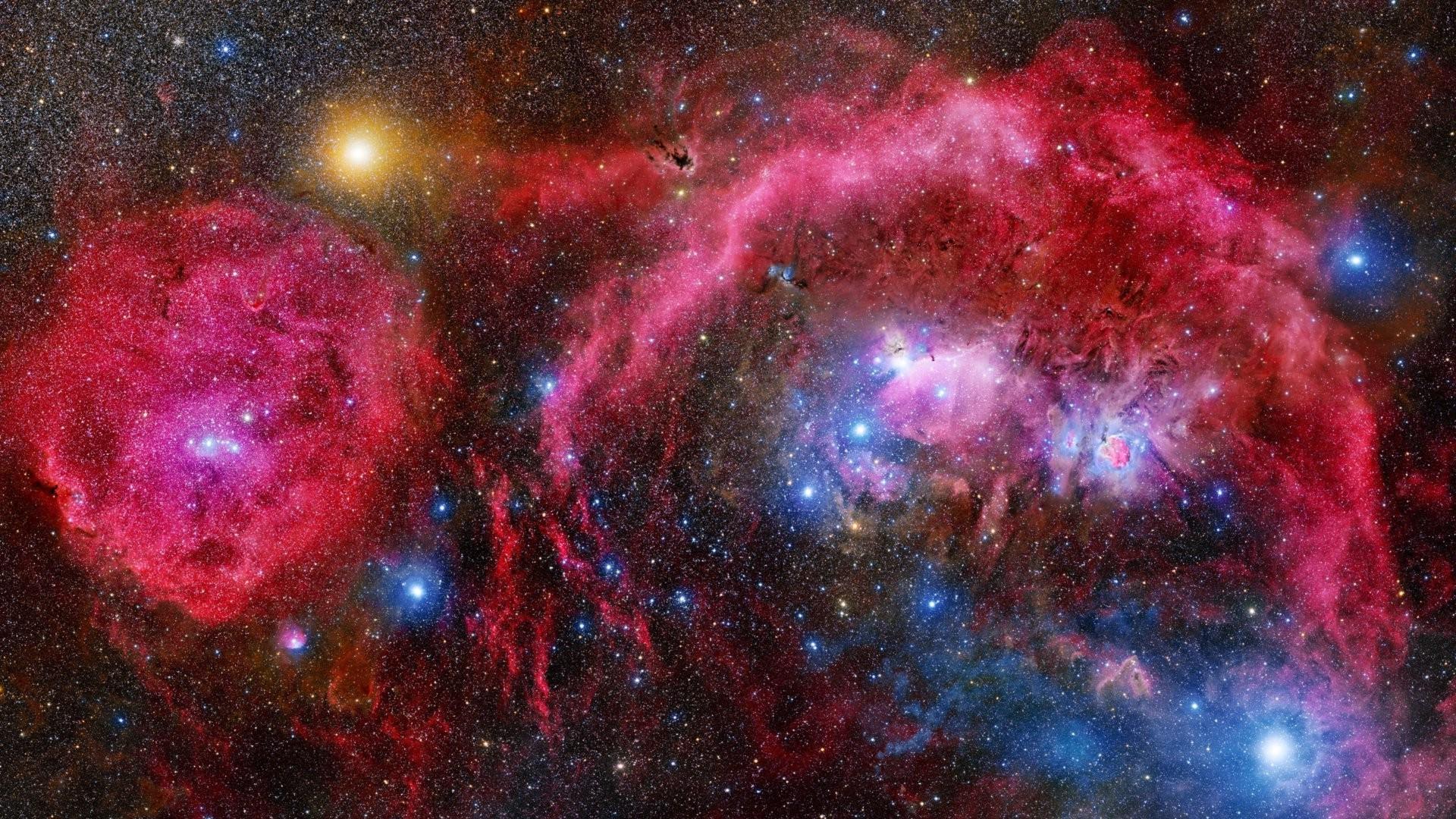 1920x1080 Px Galaxy NASA Nebula Planet Sky Stars