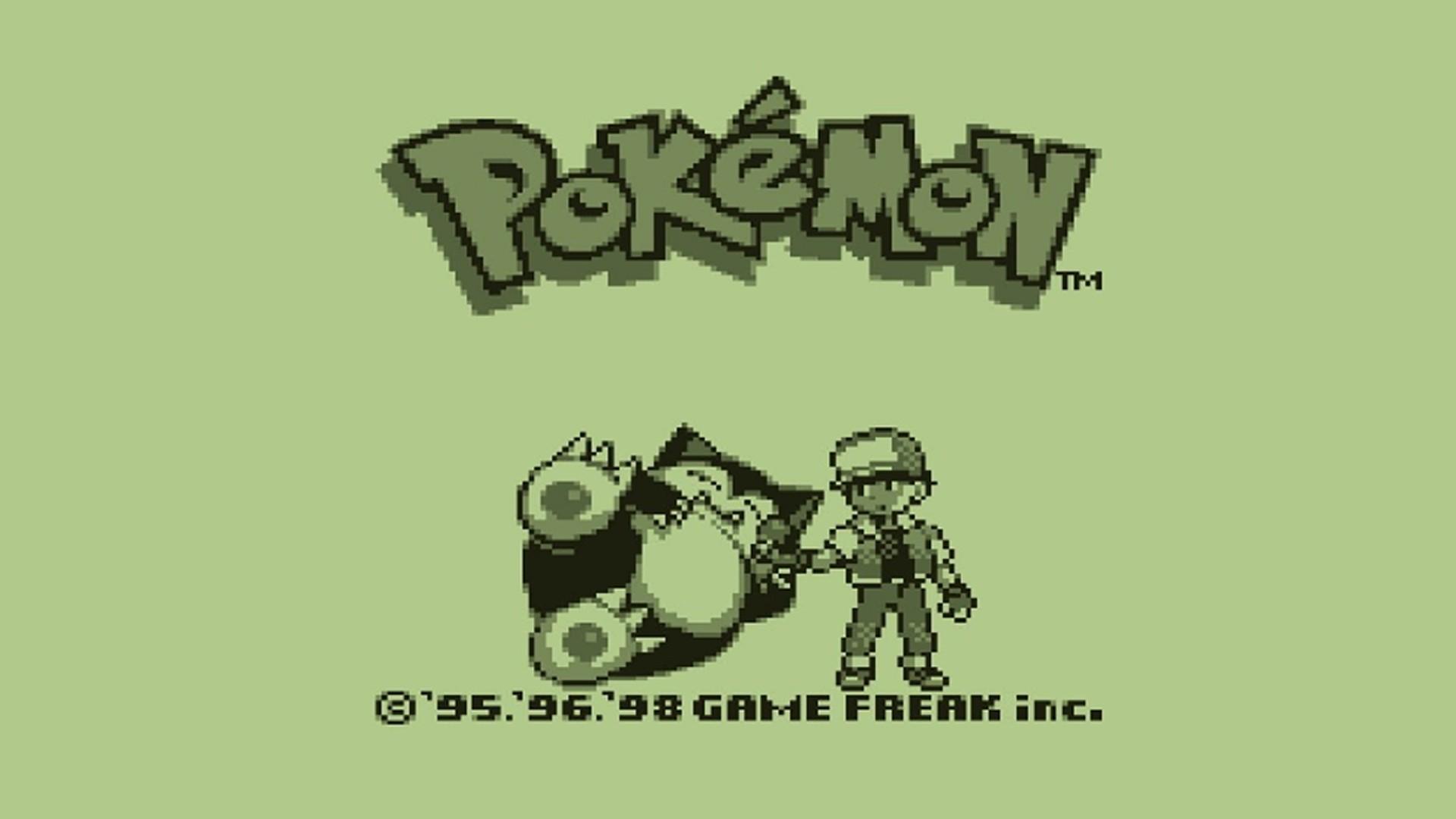 1920x1080 px green pokemon retro games video games