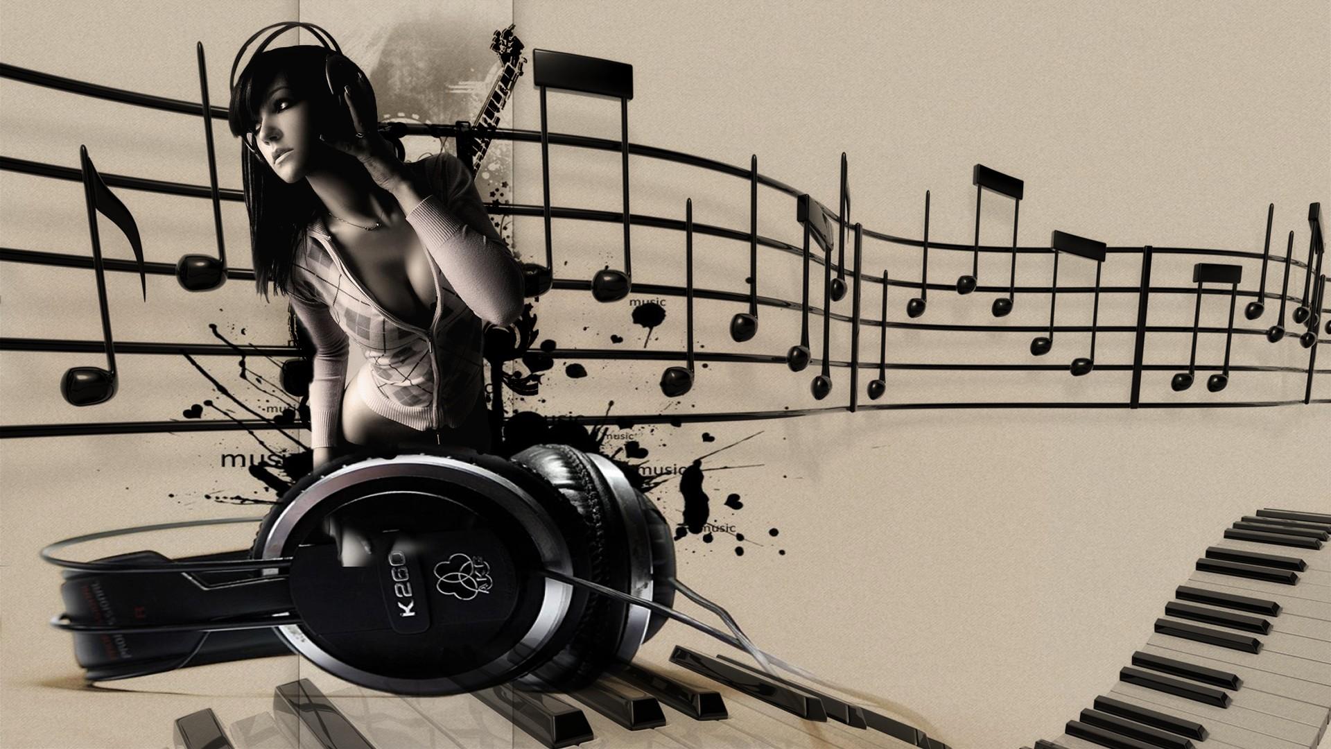 Видимая музыка в картинках