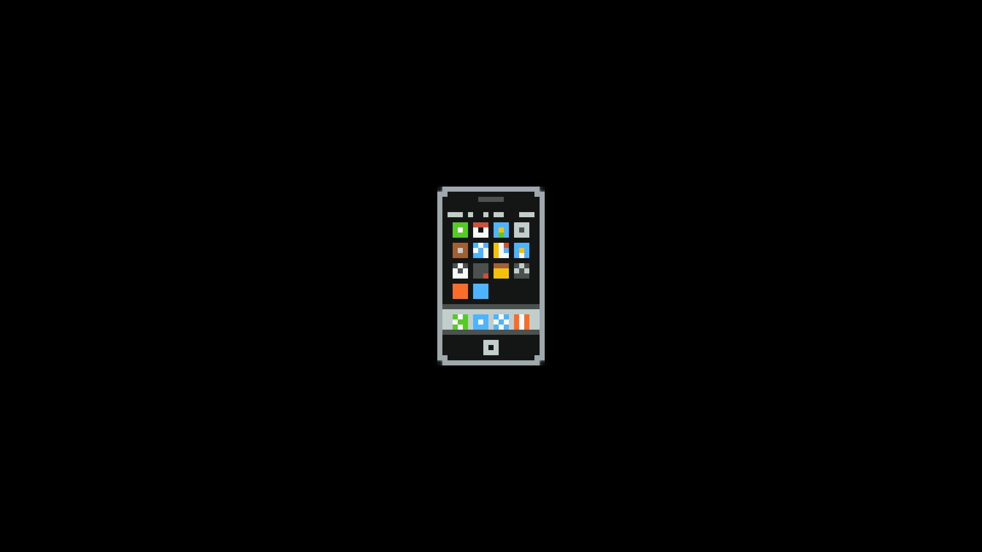 Wallpaper 1920x1080 Px Iphone Pixel Art Pixels Telephone