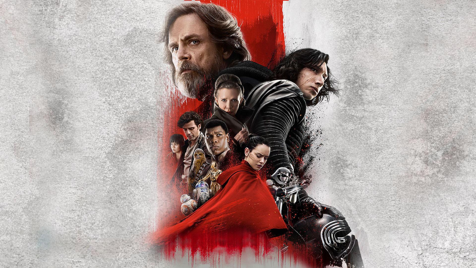 Wallpaper 1920x1080 Px Movie Poster Movies Star Wars The Last Jedi 1920x1080 Wallbase 1430957 Hd Wallpapers Wallhere