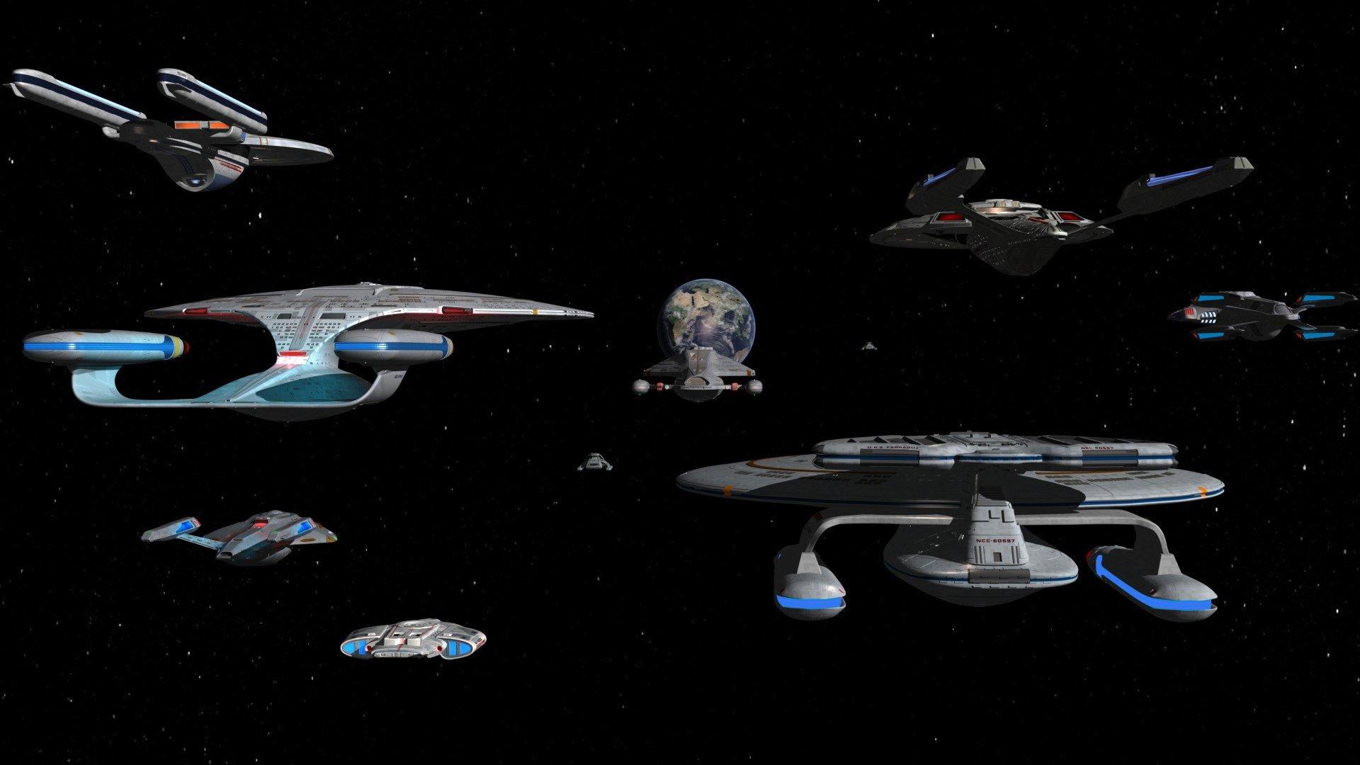 wallpaper : 1920x1080 px, spaceship, star trek 1920x1080