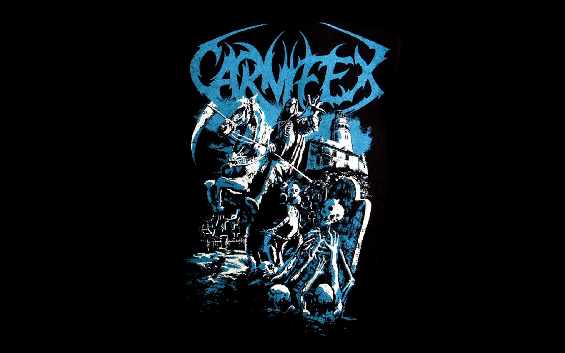 1920x1200 px 1carn carnifex dark death deathcore evil heavy metal poster reaper skull symphonic