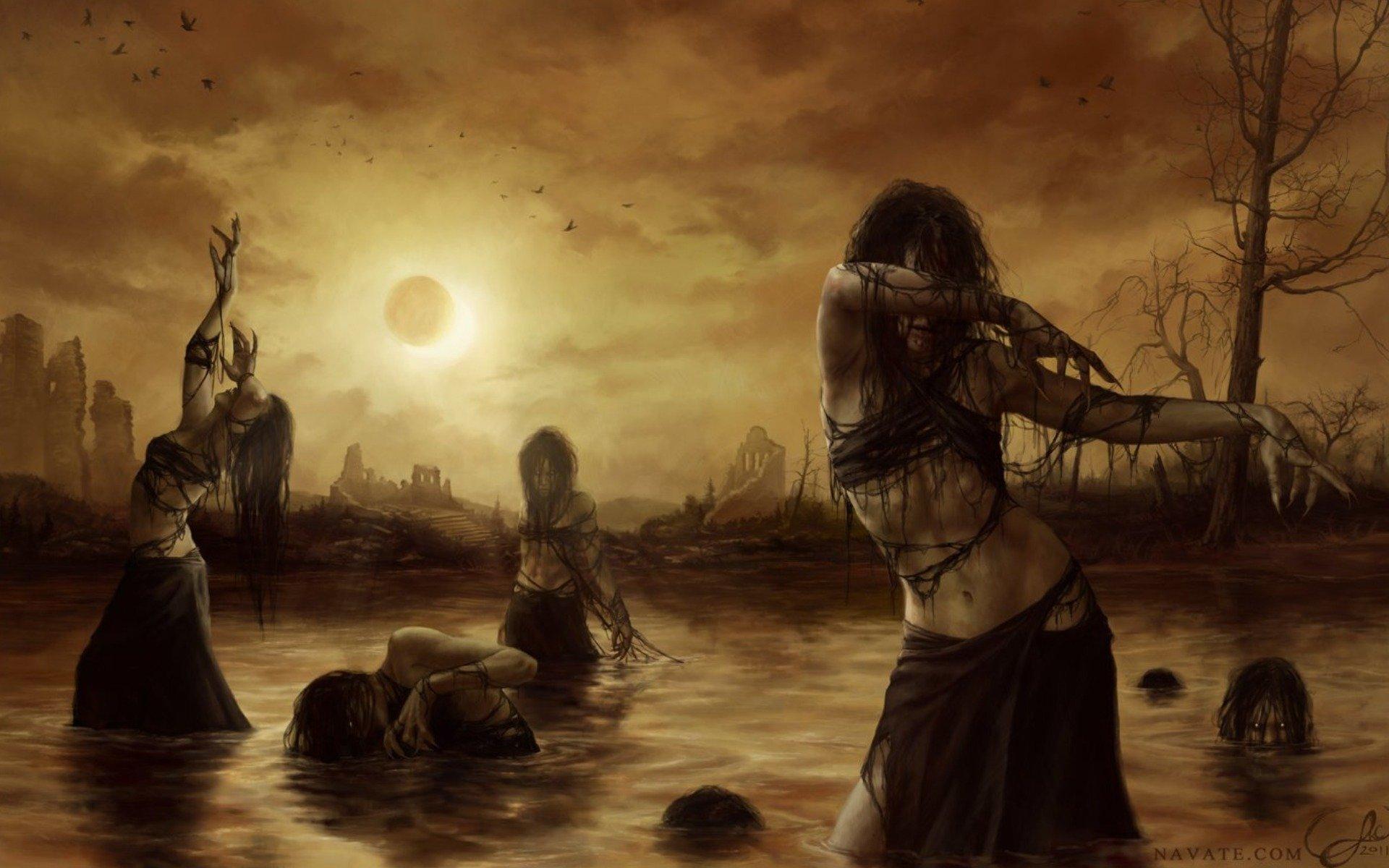 Славянские мрачные картинки