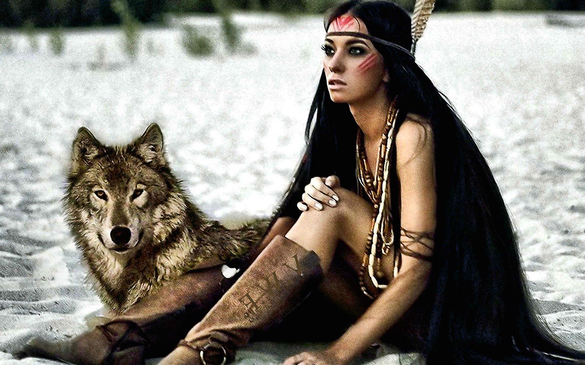 Красивые фотографии со шкурой волка