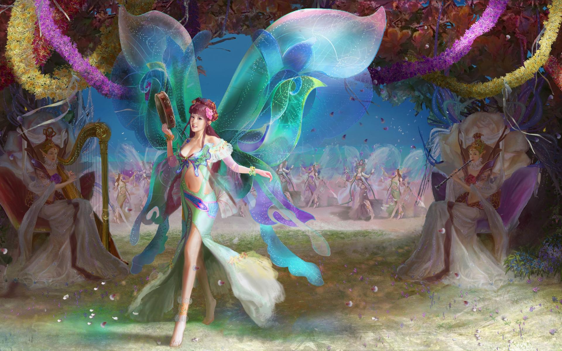 танец эльфов картинка провинция манитоба уже