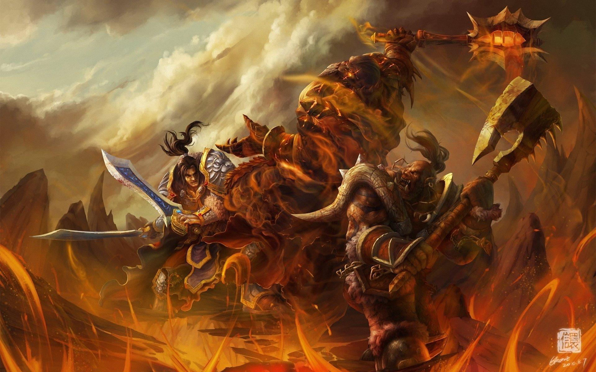 Wallpaper 1920x1200 Px Art Monster Of Orc War