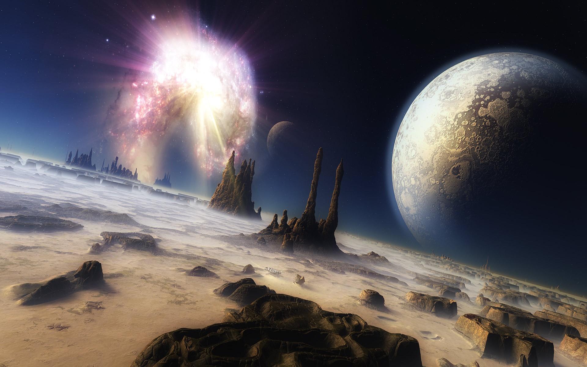 Красивые картинки космос фантастика