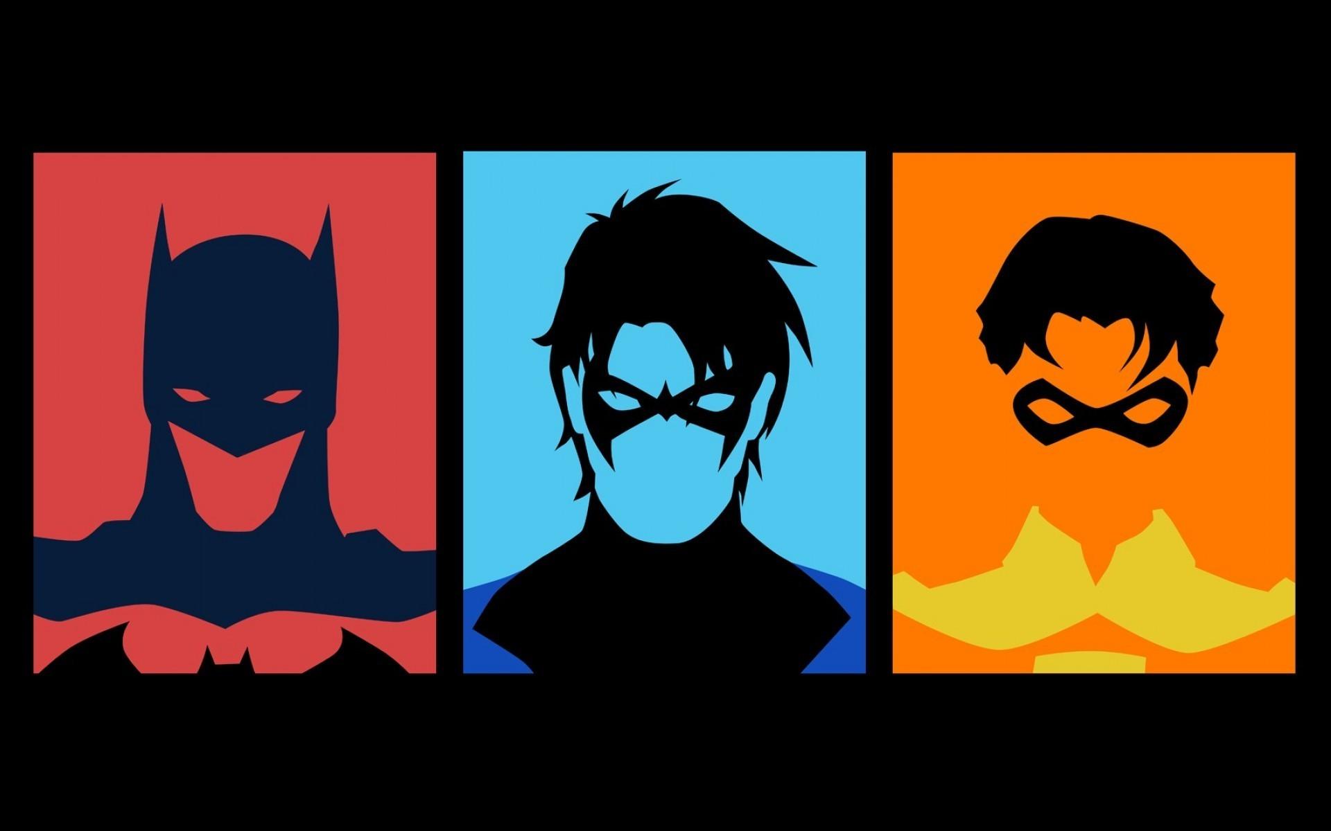1920x1200 Px Batman DC Comics Nightwing Robin Character