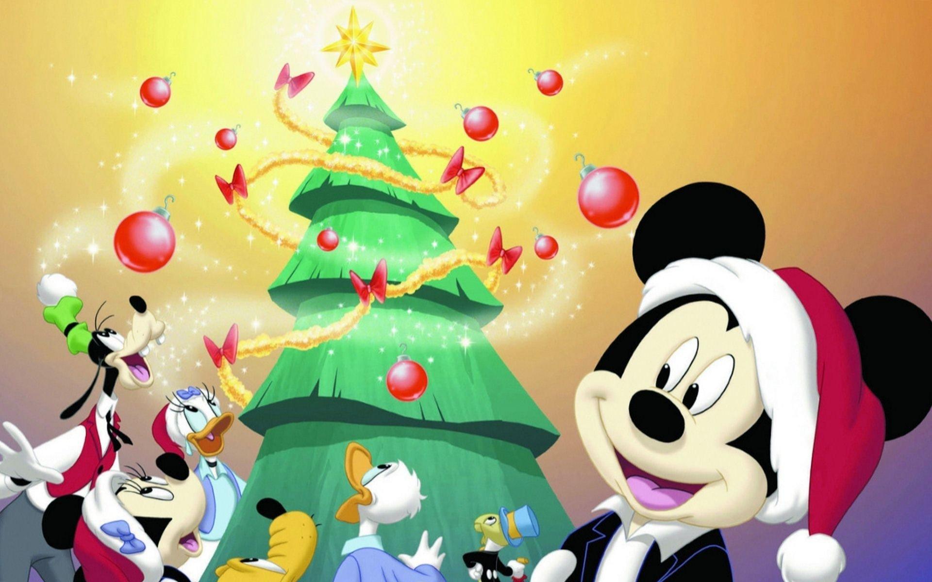 Fond D écran Vacances De Noël: Fond D'écran : 1920 X 1200 Px, Noël, Disney, Vacances