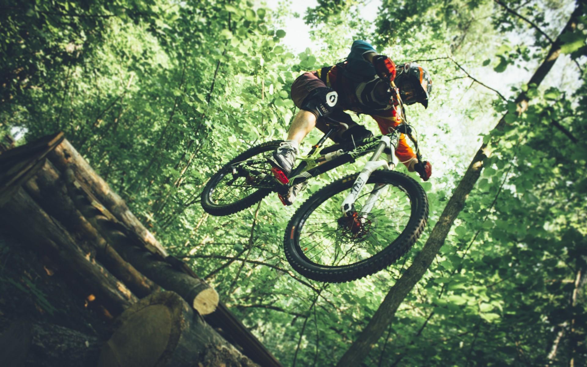 Wallpaper 1920x1200 Px Downhill Mountain Biking Helmet