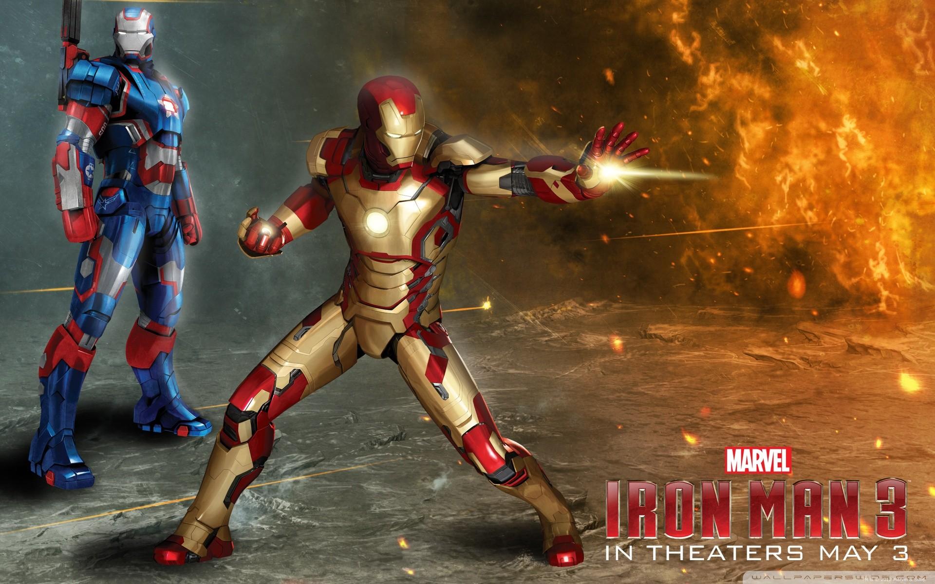 Wallpaper 1920x1200 Px Iron Man Iron Man 3 Iron Patriot