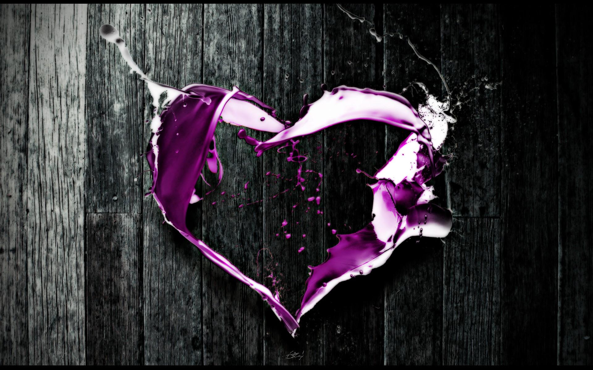 83 Gambar Abstrak Hati Paling Keren