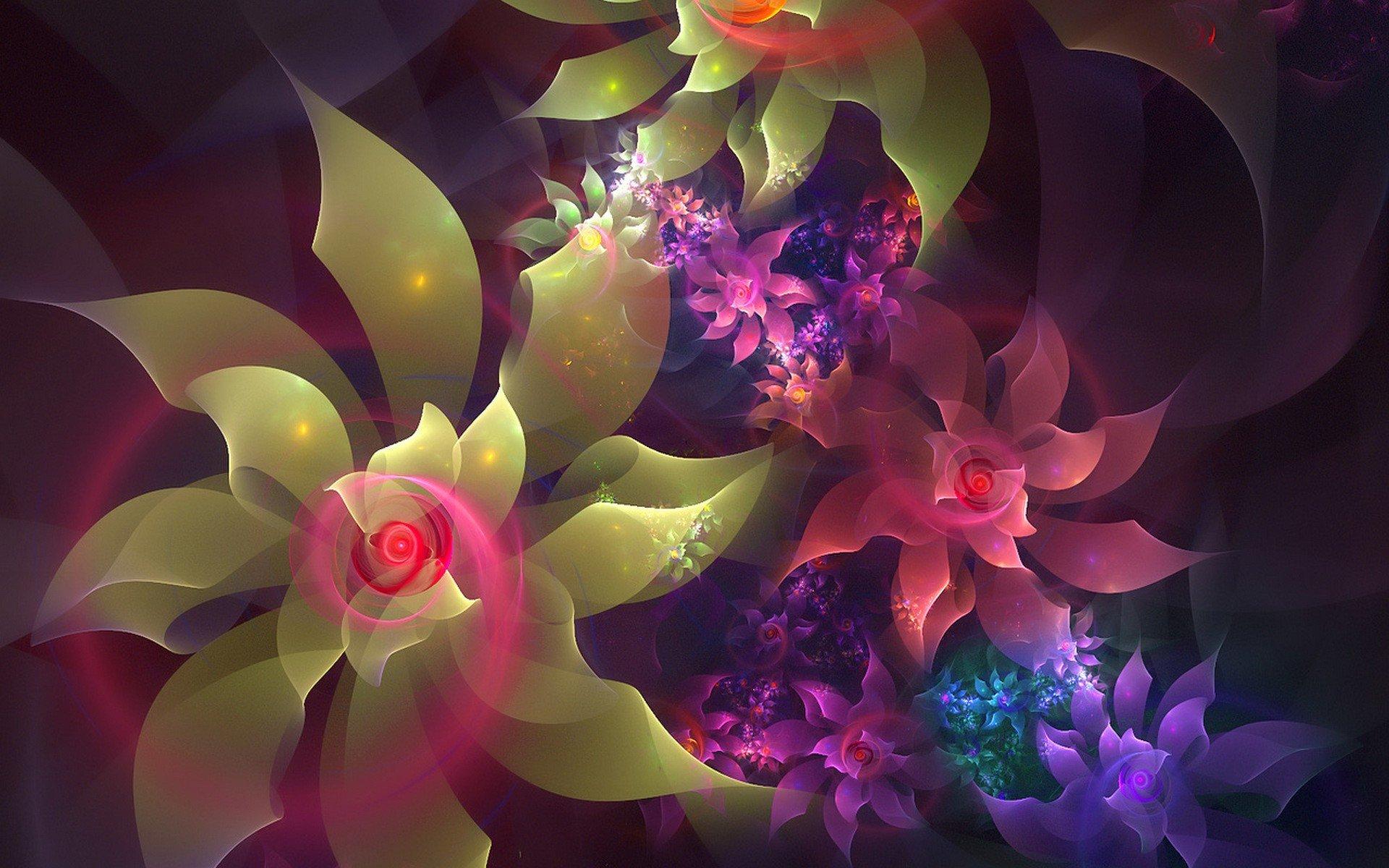 выбор картинки фантазийных цветов субботу