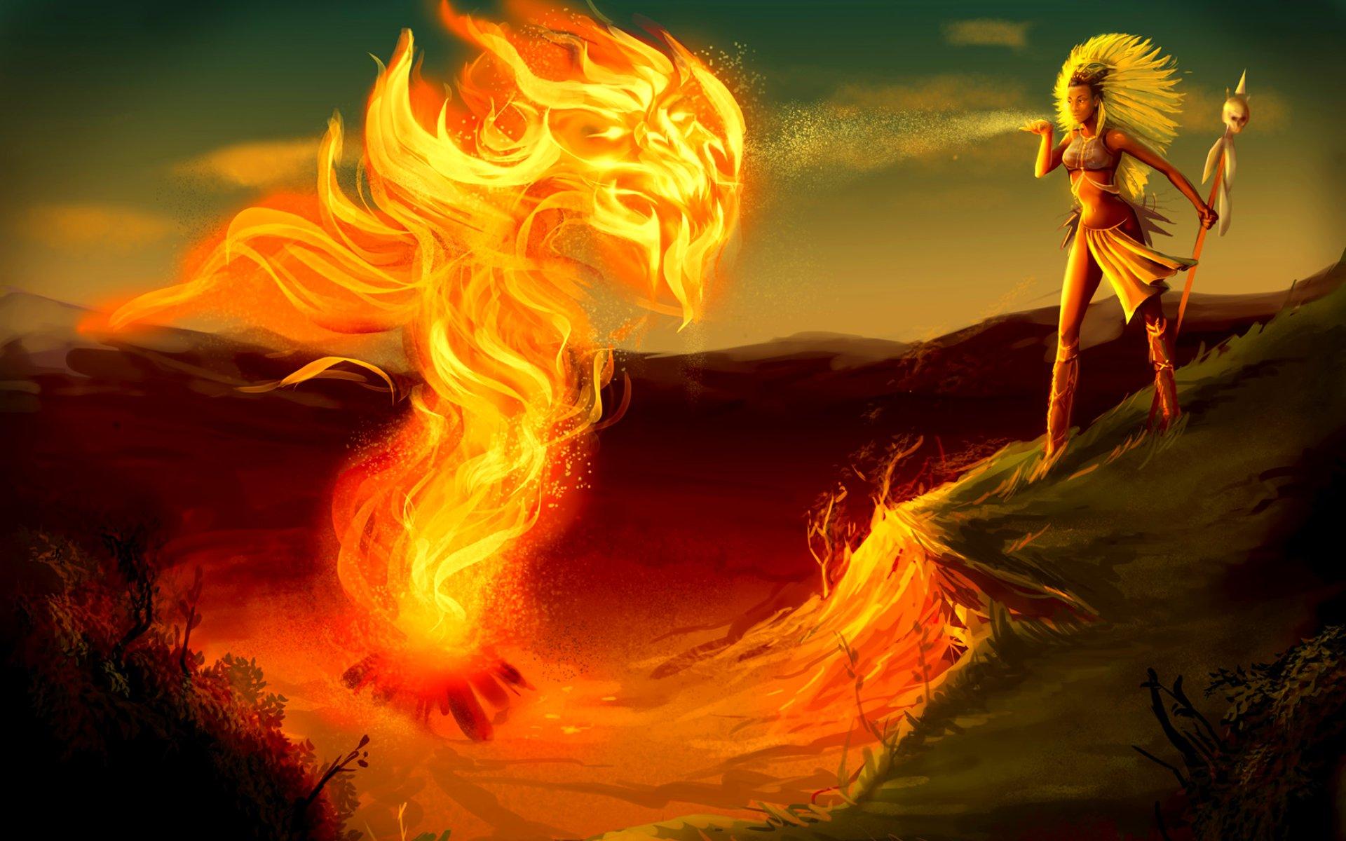 Картинка вода огонь ветер