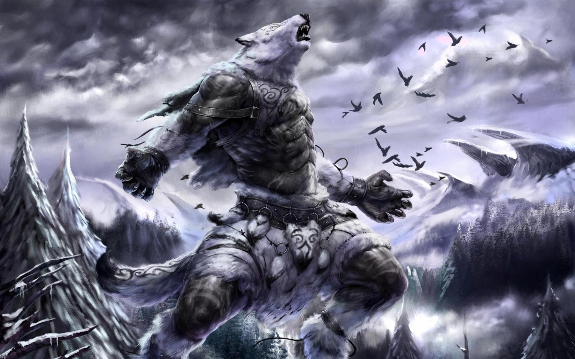 Bear Monster Fantasy Art