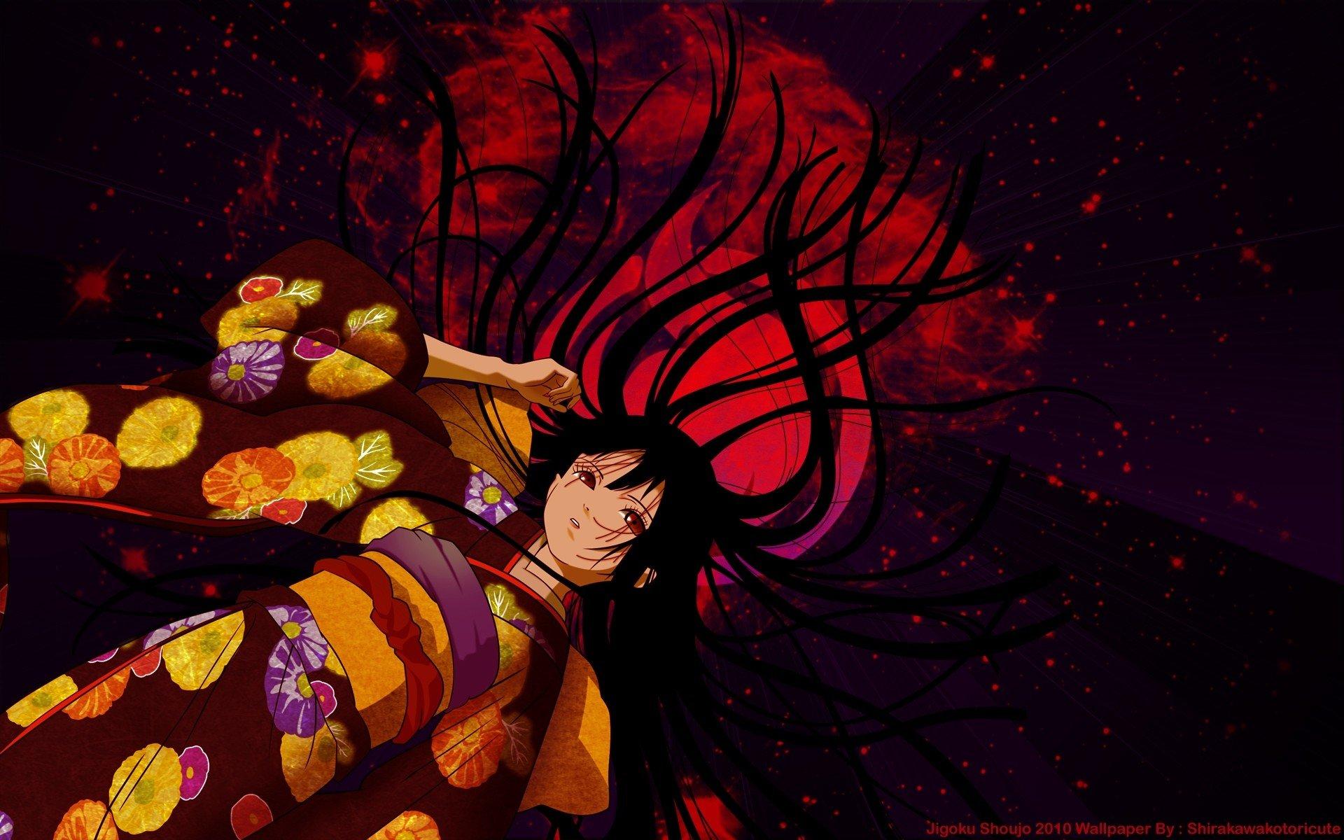 wallpaper 1920x1200 px anime girls enma ai flowers