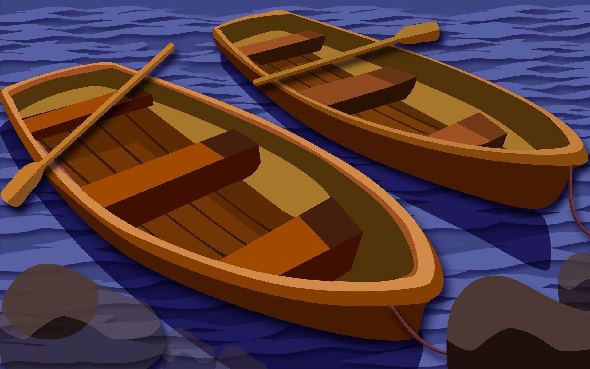 Картинка про лодку