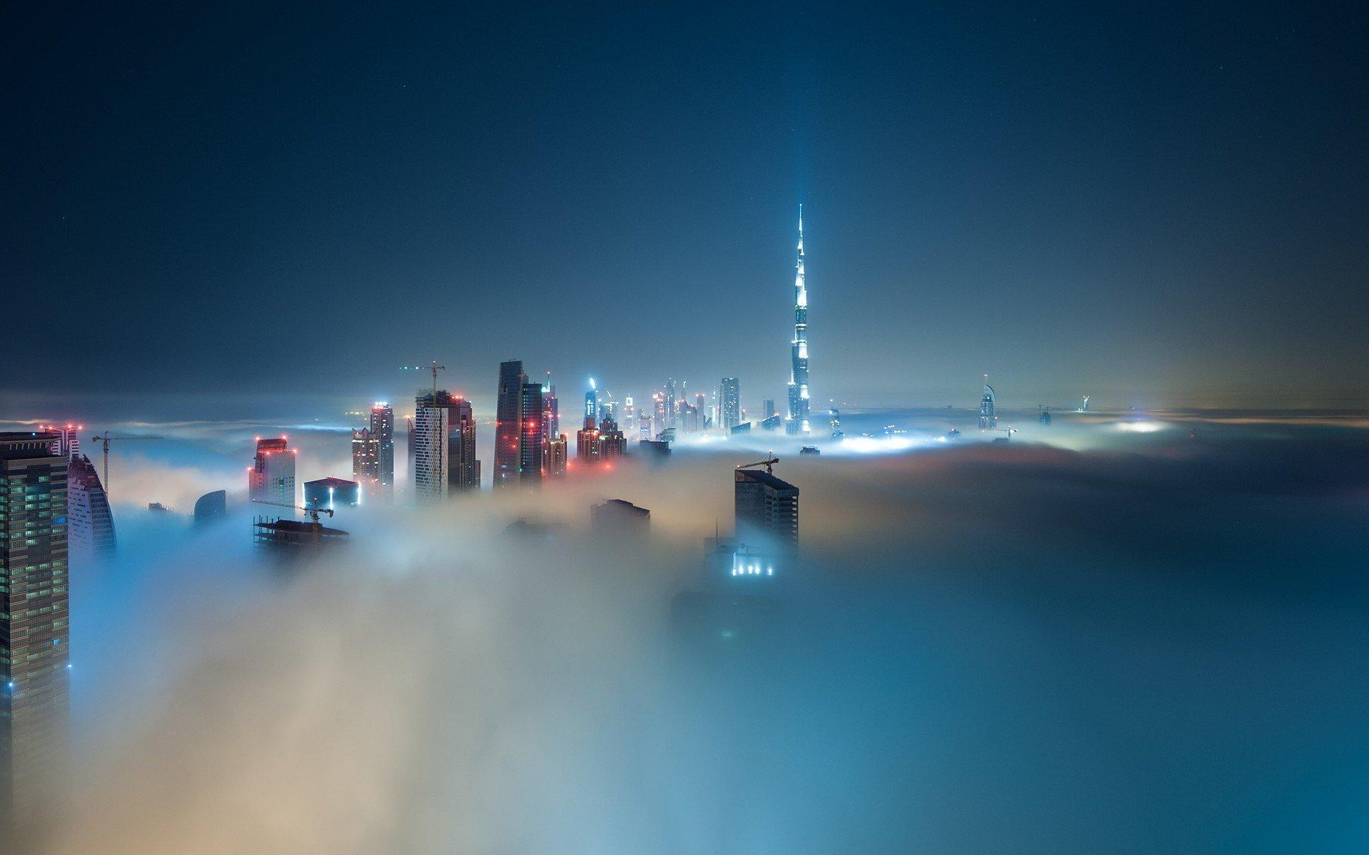 дубай в тумане фото утюжок почти