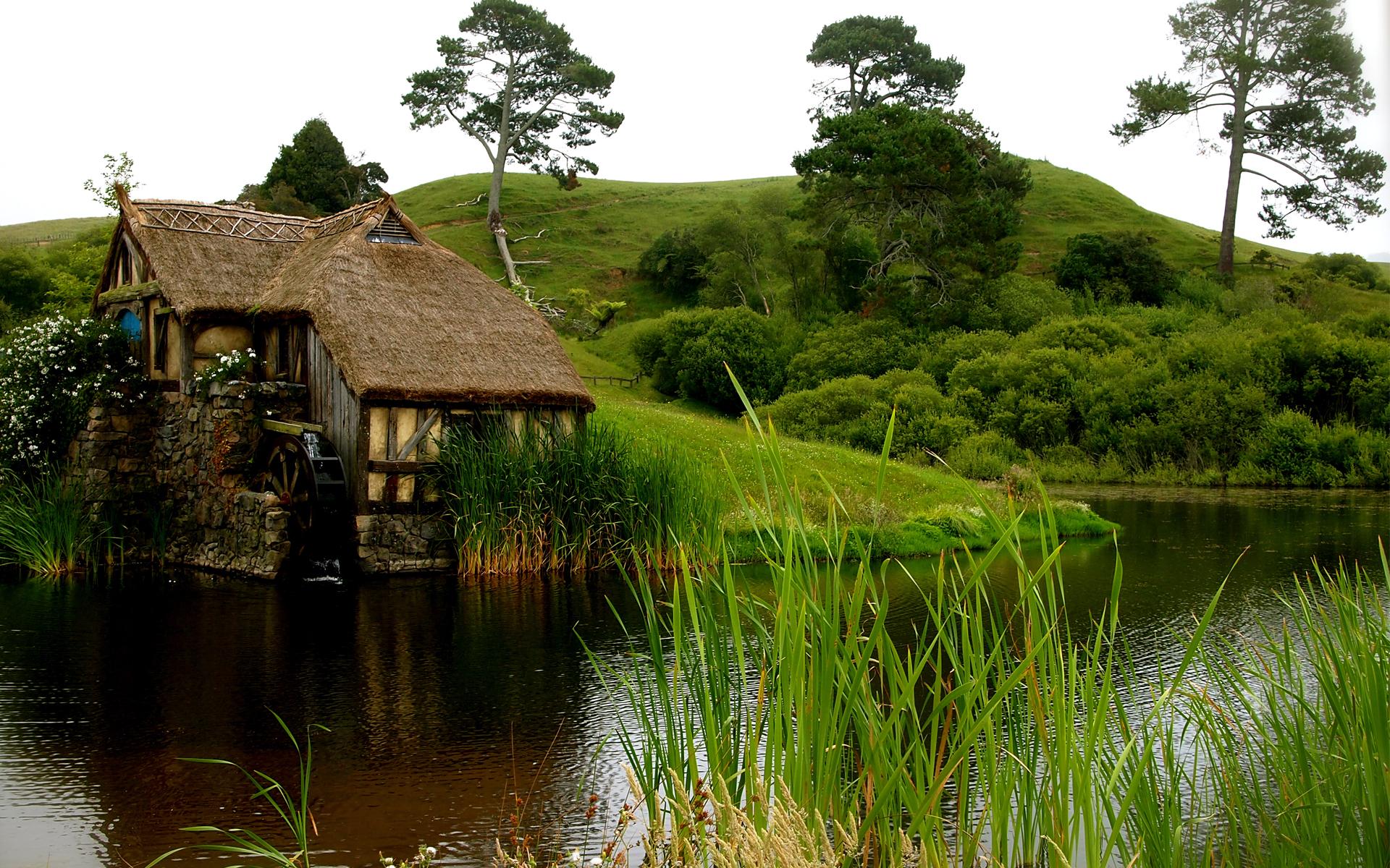 Картинка природа и дом
