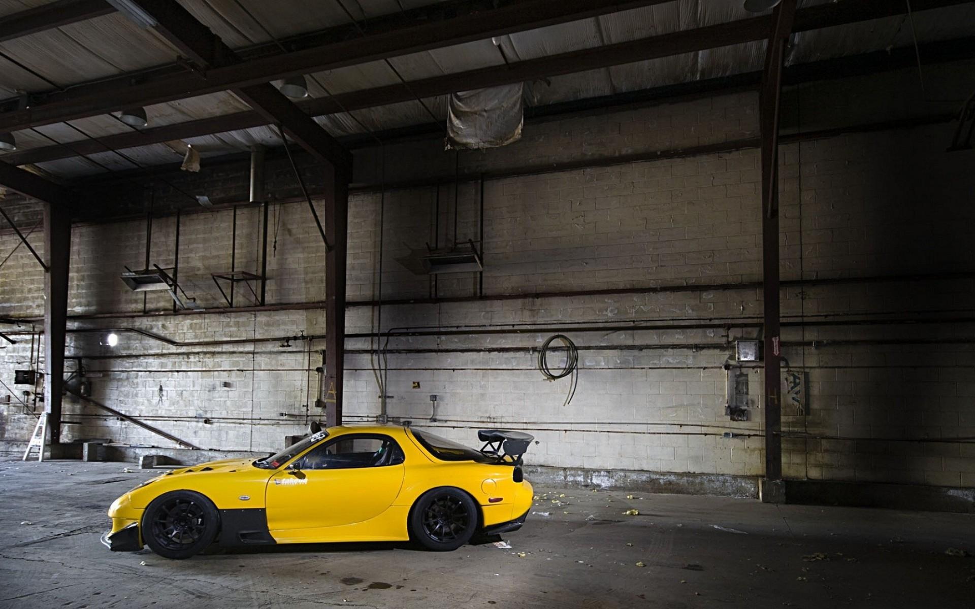 Wallpaper 1920x1200 Px Car Jdm Mazda Rx 7 Stance Yellow Cars 1920x1200 Wallpaperup 1096440 Hd Wallpapers Wallhere