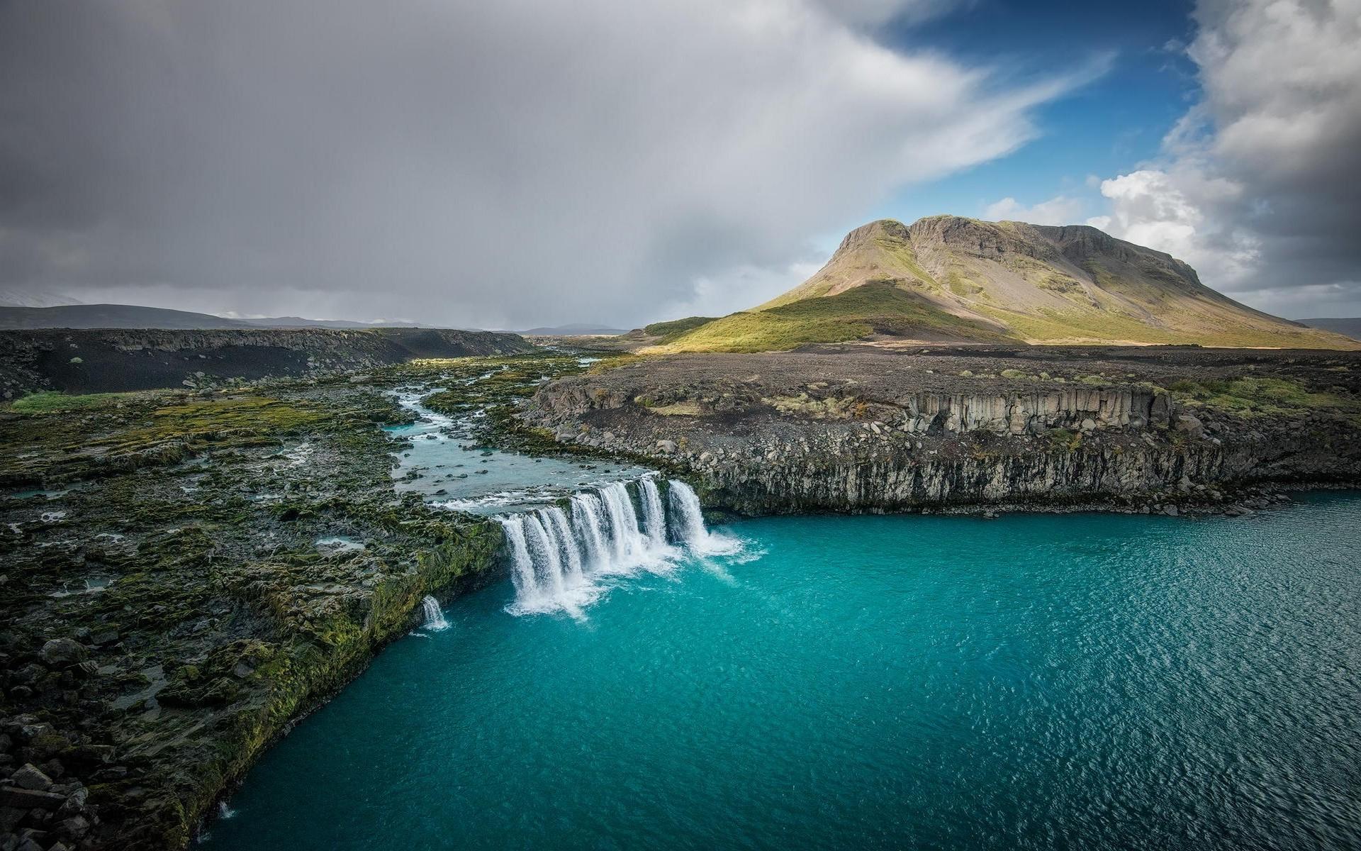 Винтажные, исландия открытки